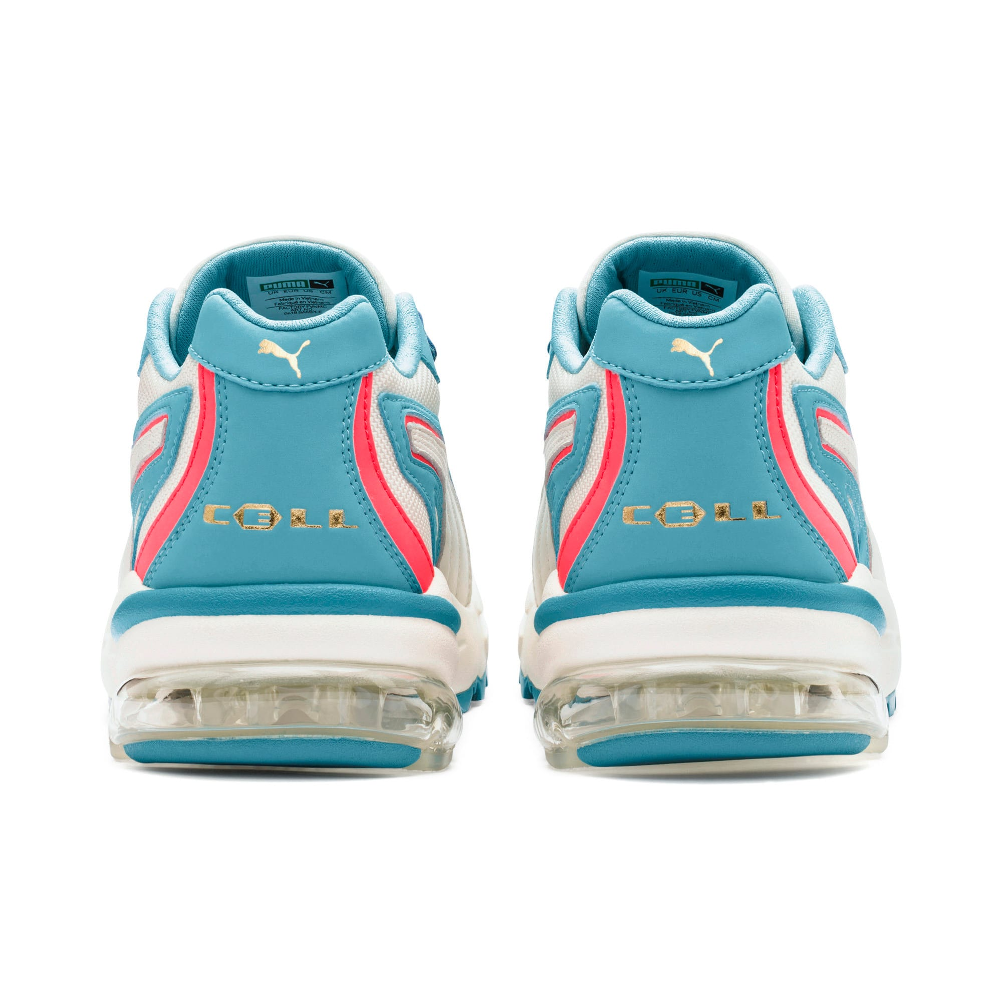Thumbnail 4 of CELL Stellar Damen Sneaker, Milky Blue-Puma Team Gold, medium