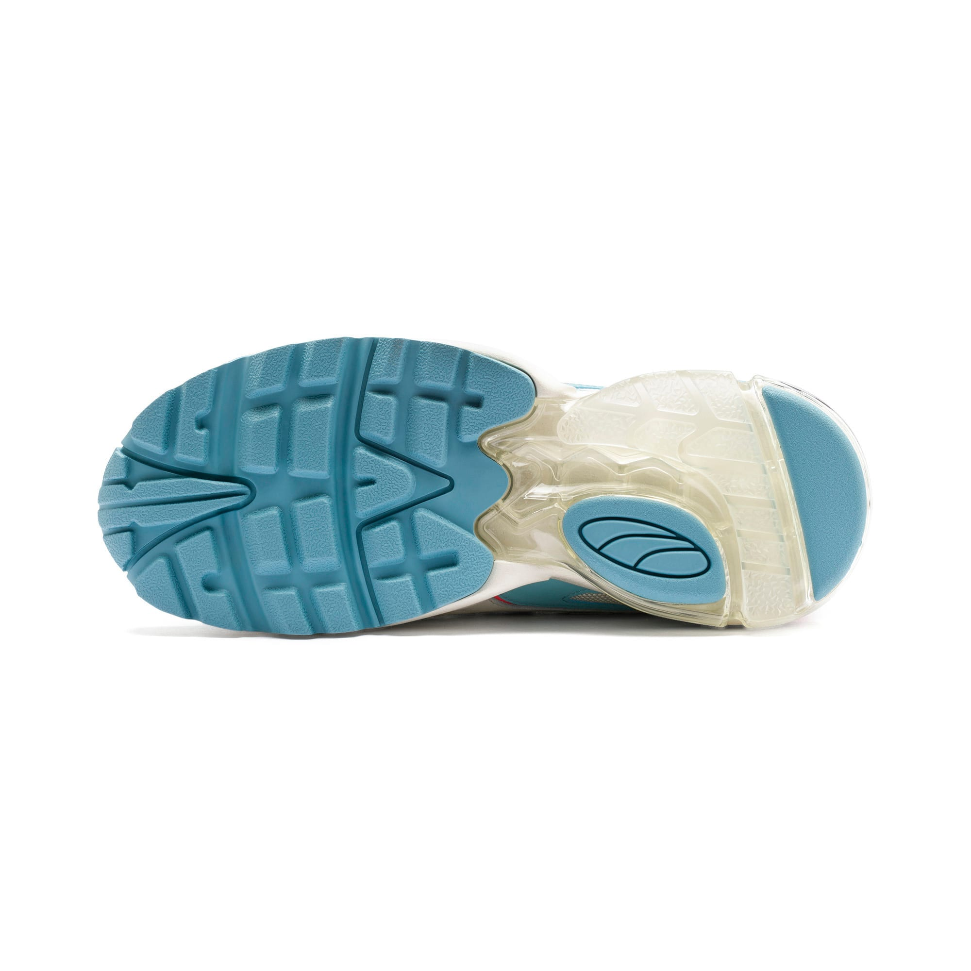 Thumbnail 5 of CELL Stellar Women's Sneakers, Milky Blue-Puma Team Gold, medium