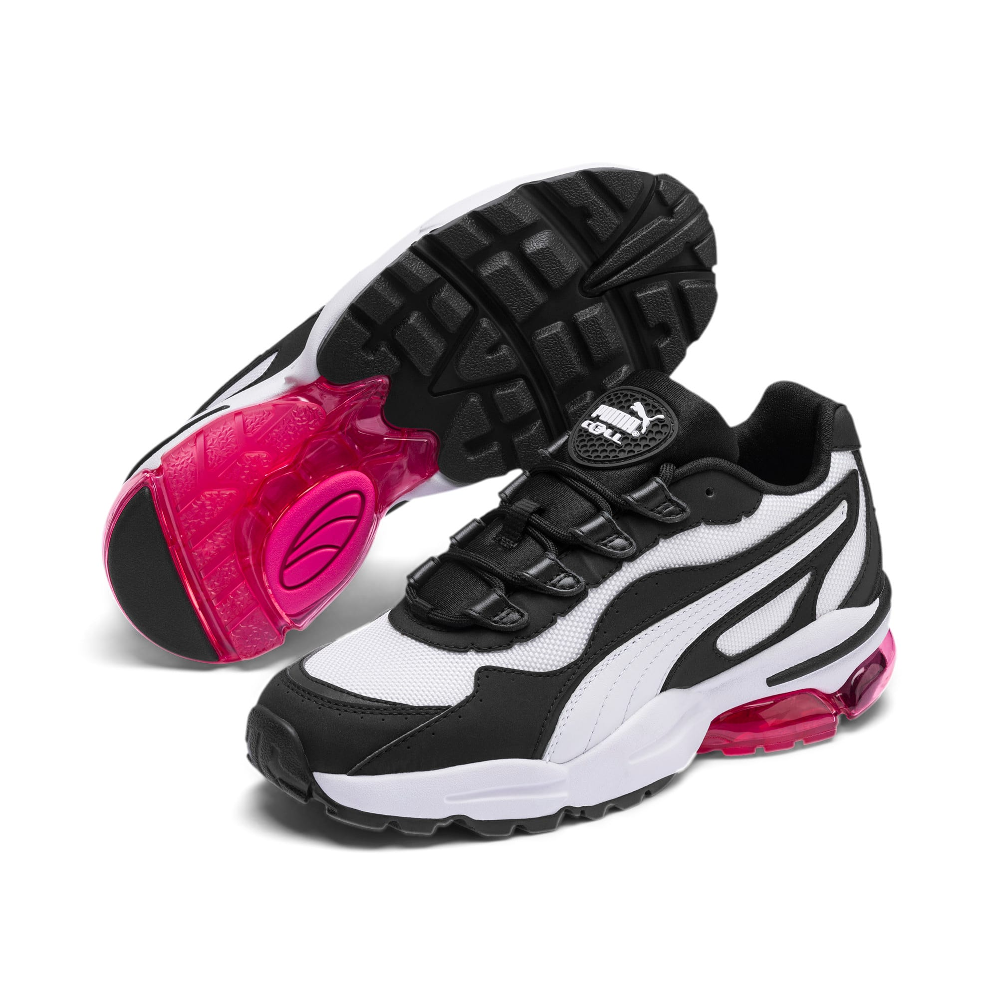 Thumbnail 2 of CELL Stellar Women's Sneakers, Puma White-Puma Black, medium