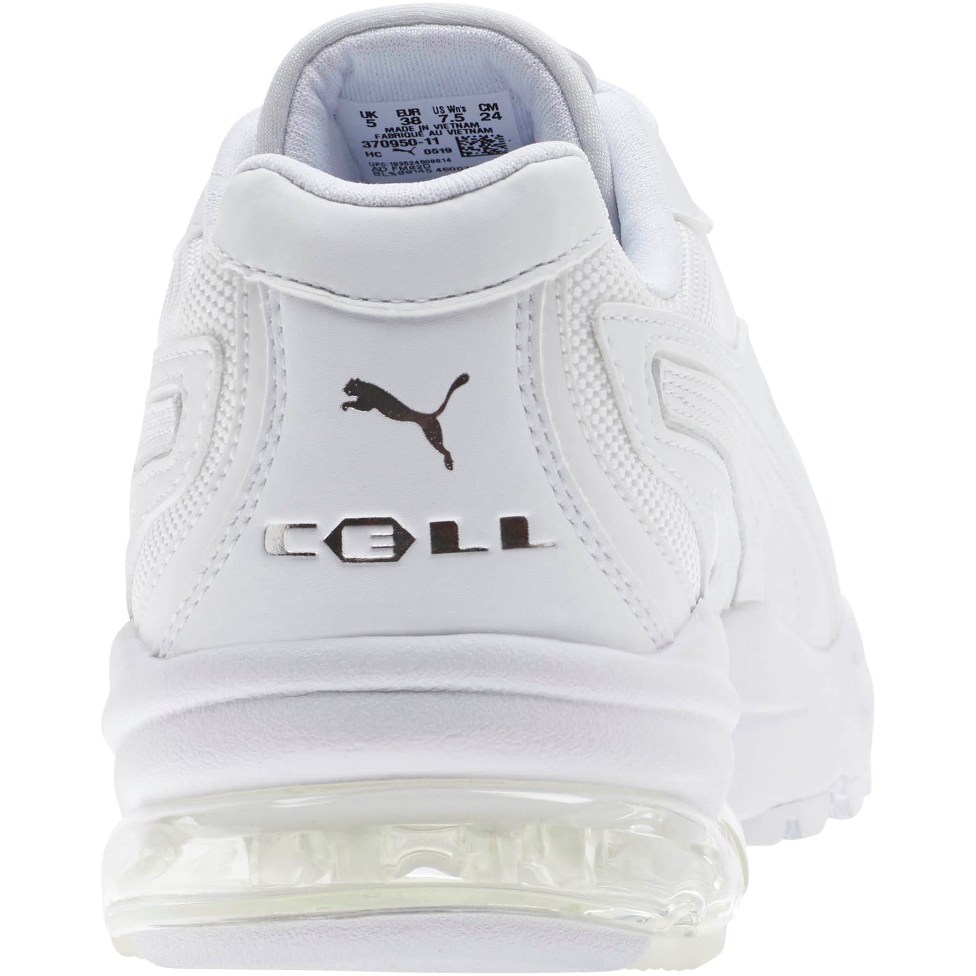 Thumbnail 3 of CELL Stellar Women's Sneakers, Puma White-Silver, medium