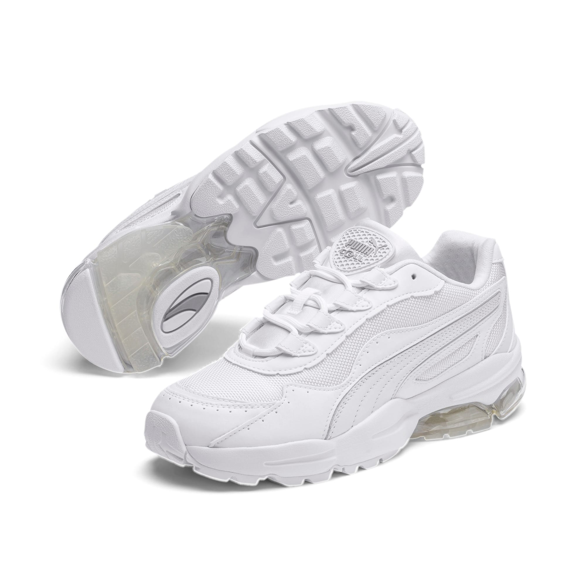 Thumbnail 2 of CELL Stellar Damen Sneaker, Puma White-Silver, medium