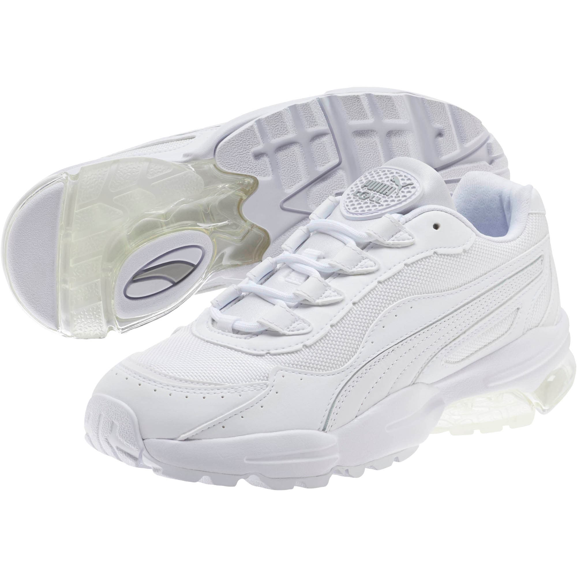 Thumbnail 2 of CELL Stellar Women's Sneakers, Puma White-Silver, medium