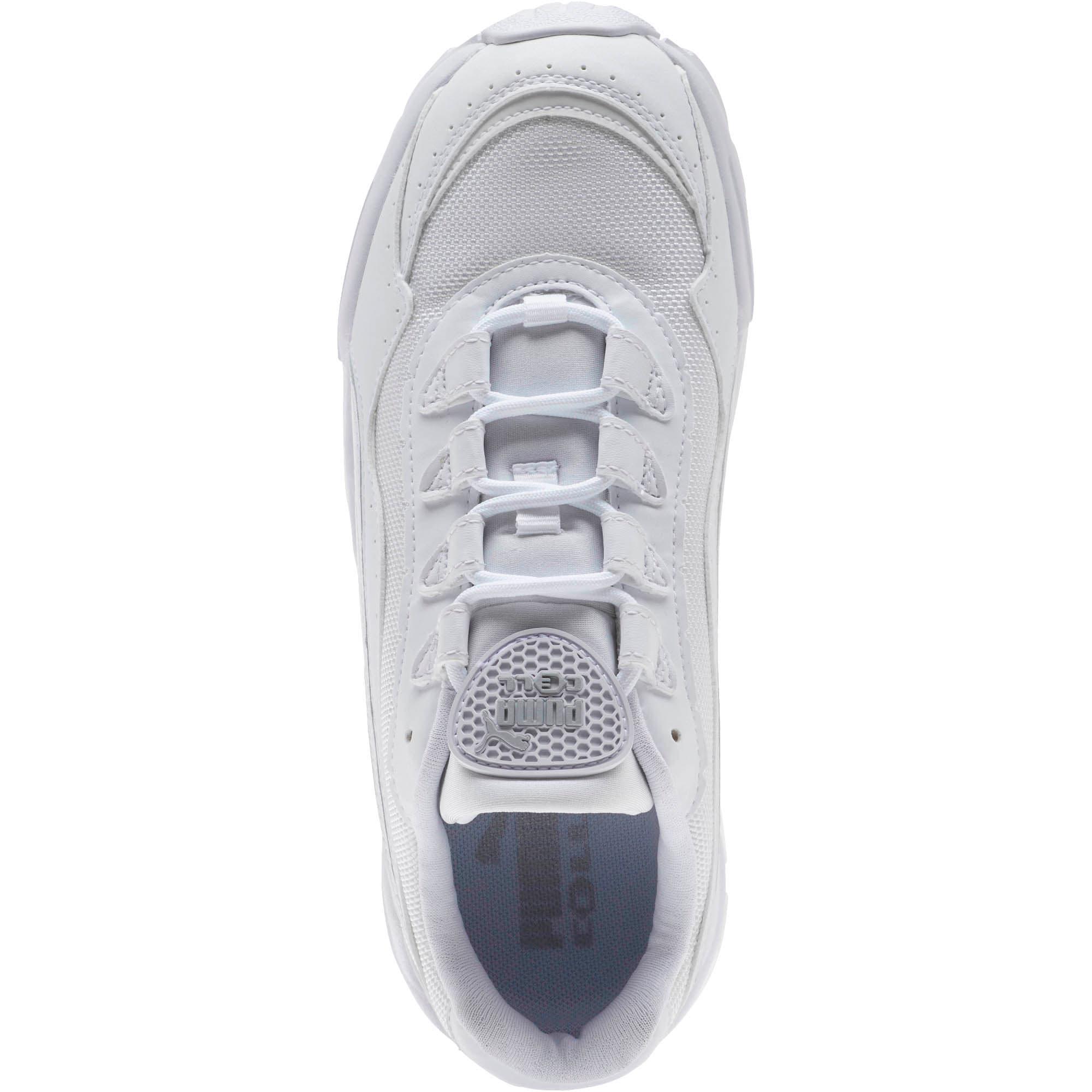 Thumbnail 5 of CELL Stellar Women's Sneakers, Puma White-Silver, medium