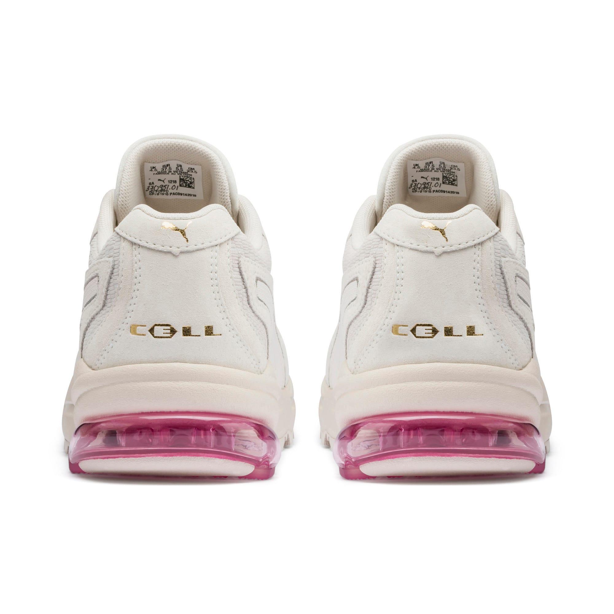 Thumbnail 4 of CELL Stellar Tonal sportschoenen voor dames, Marshmallow-Puma Team Gold, medium