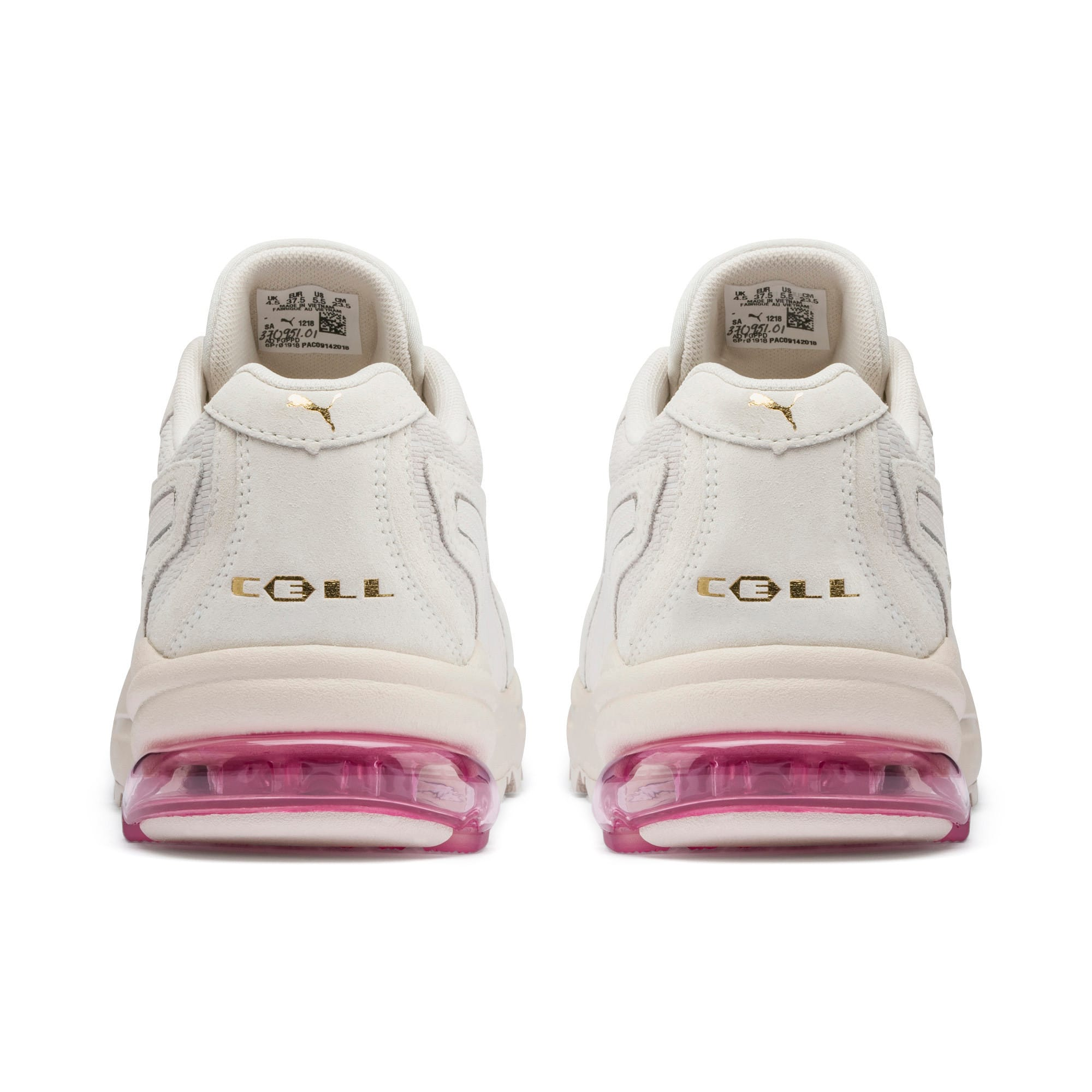 Thumbnail 4 of CELL Stellar Tonal Women's Sneakers, Marshmallow-Puma Team Gold, medium
