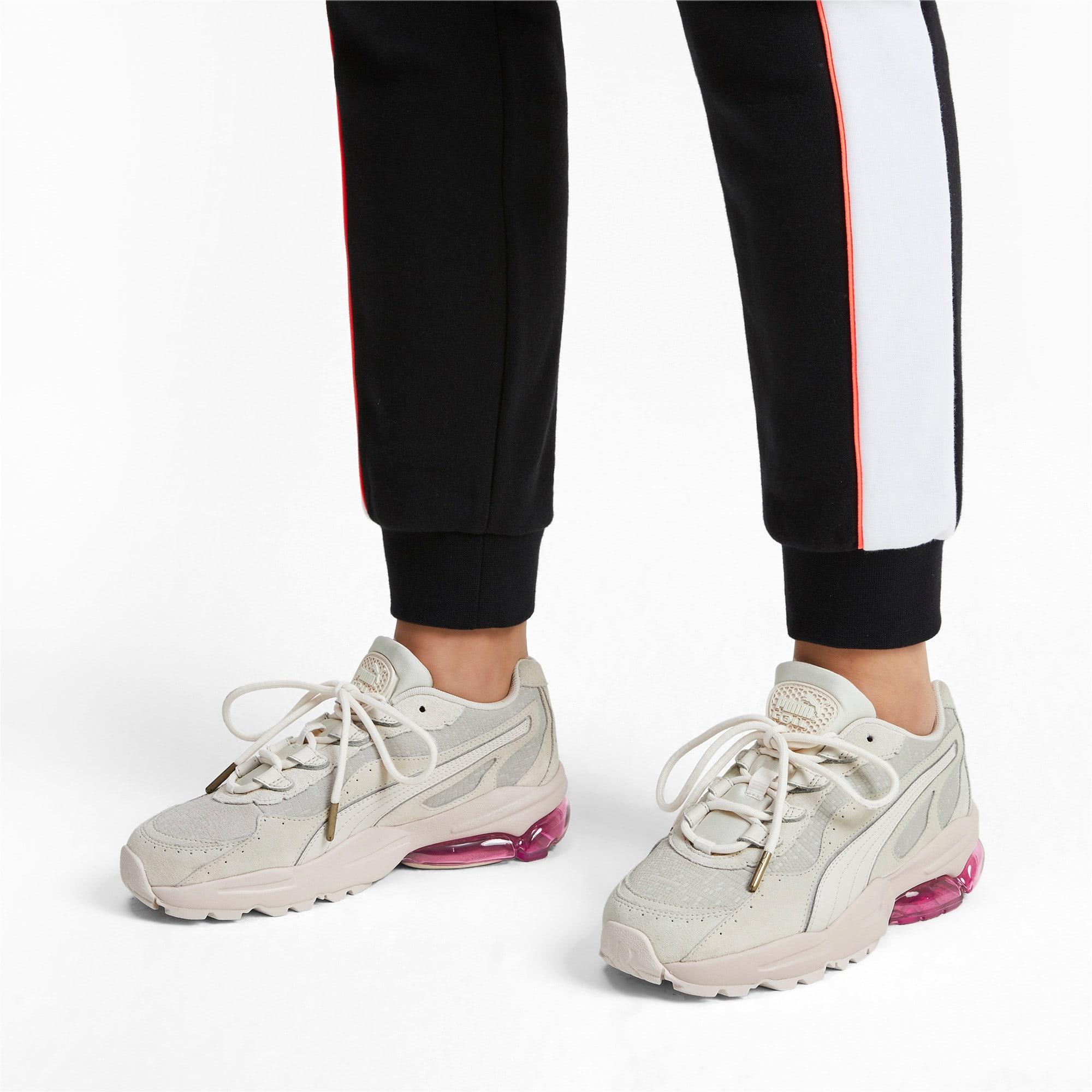 Thumbnail 2 of CELL Stellar Tonal sportschoenen voor dames, Marshmallow-Puma Team Gold, medium