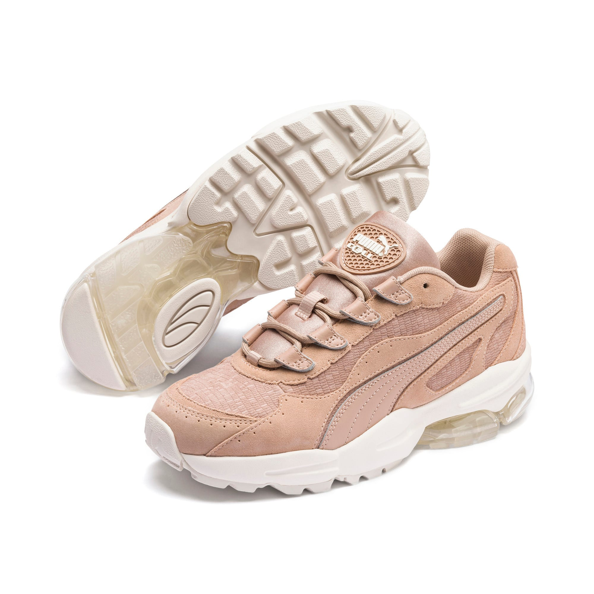 Thumbnail 2 of CELL Stellar Tonal Women's Sneakers, Nougat-Puma Team Gold, medium