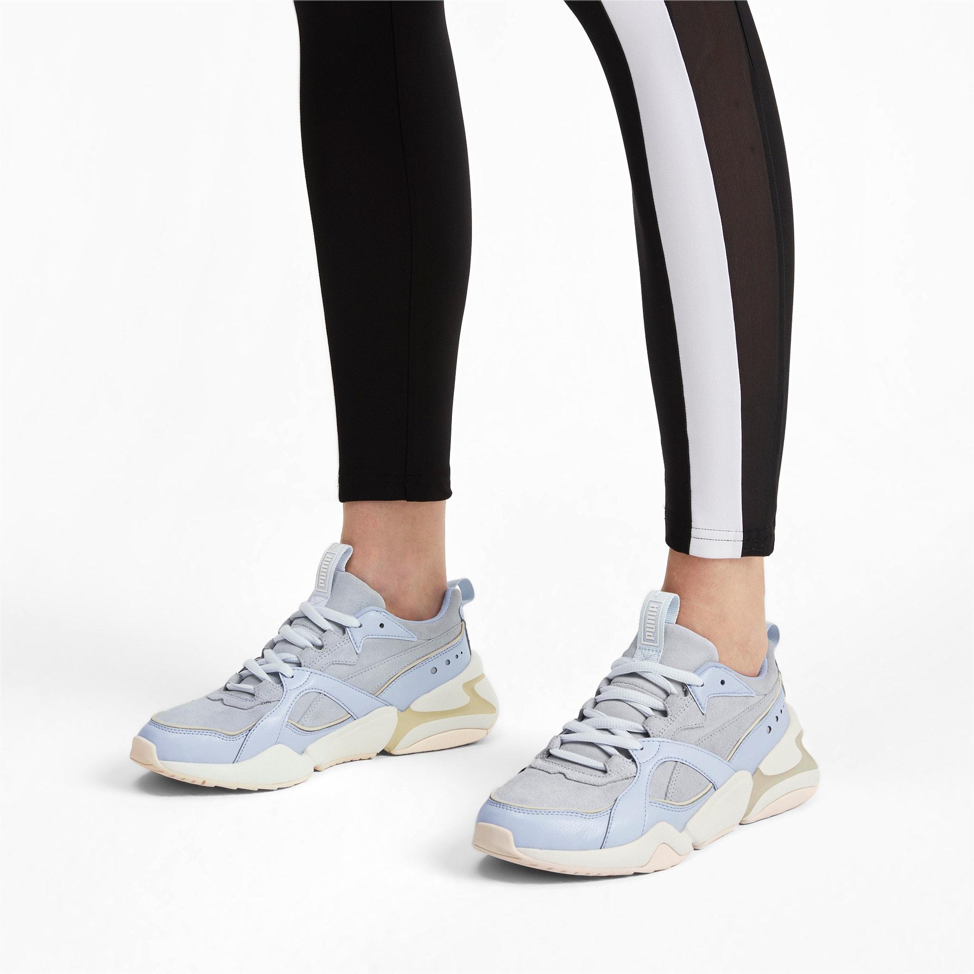 Thumbnail 2 of Nova 2 Suede Women's Sneakers, Heather-Whisper White, medium