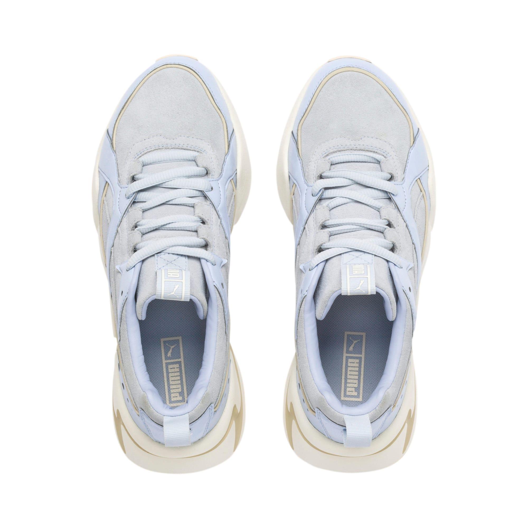 Thumbnail 7 of Nova 2 Suede Women's Sneakers, Heather-Whisper White, medium