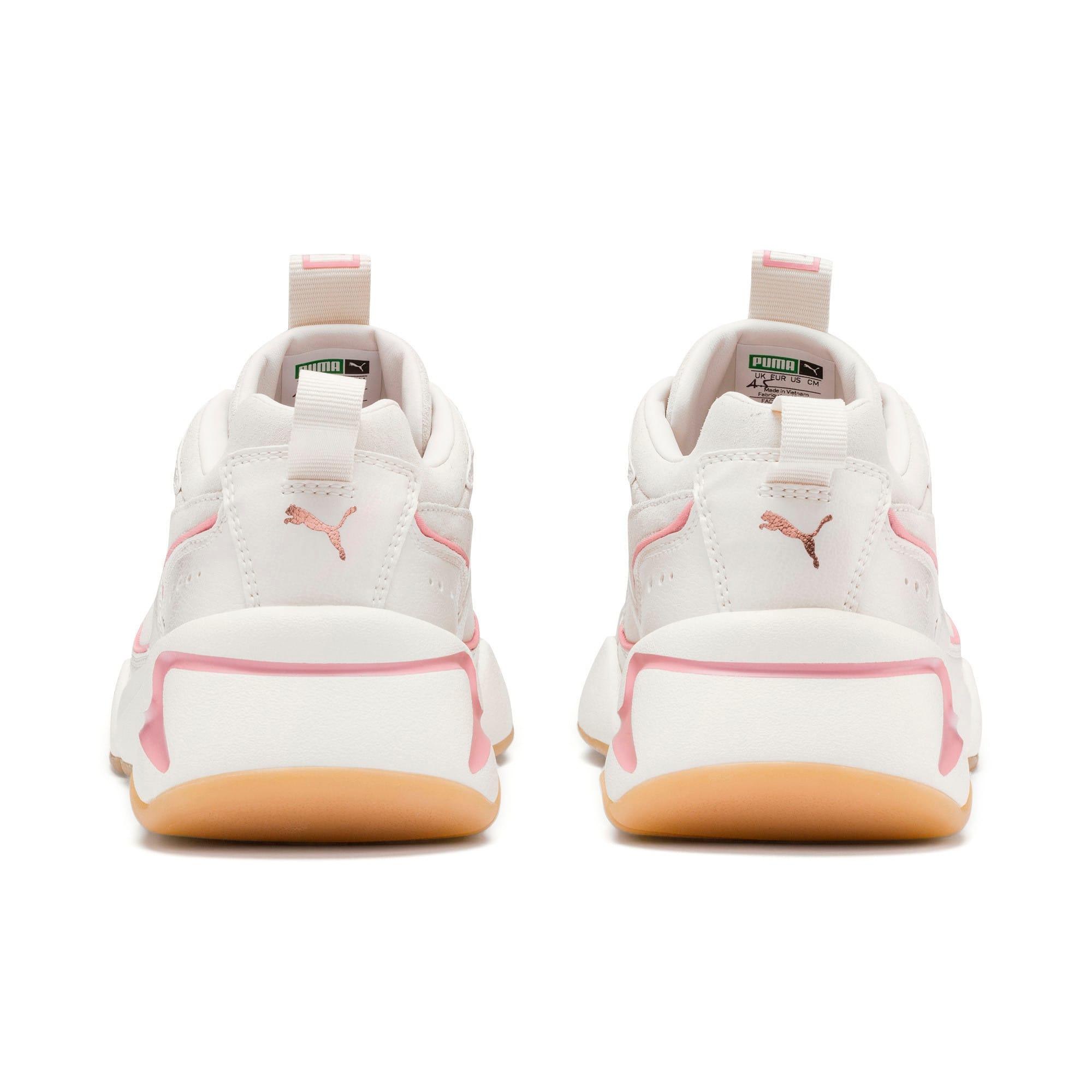 Thumbnail 4 of Nova 2 Suede Women's Sneakers, Pastel Parchment-Whisp White, medium