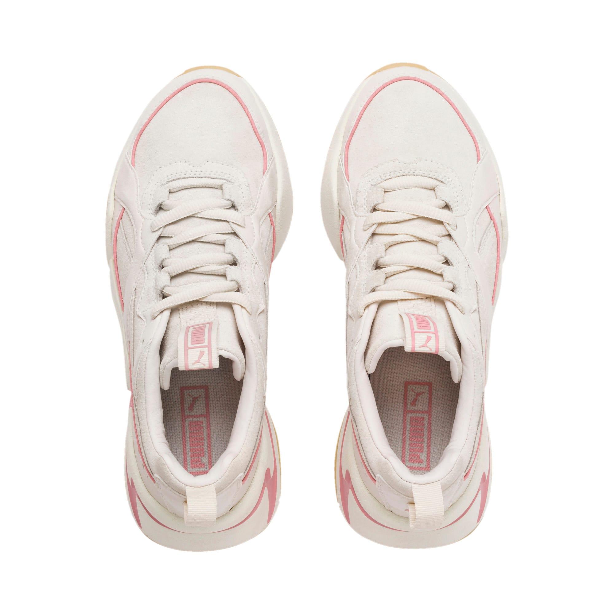 Thumbnail 7 of Nova 2 Suede Women's Sneakers, Pastel Parchment-Whisp White, medium