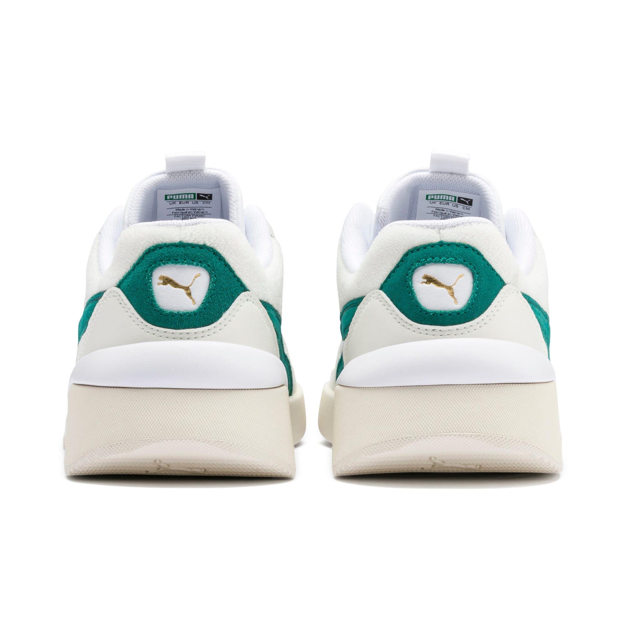 Thumbnail 4 of Aeon Heritage Women's Sneakers, Puma White-Teal Green, medium