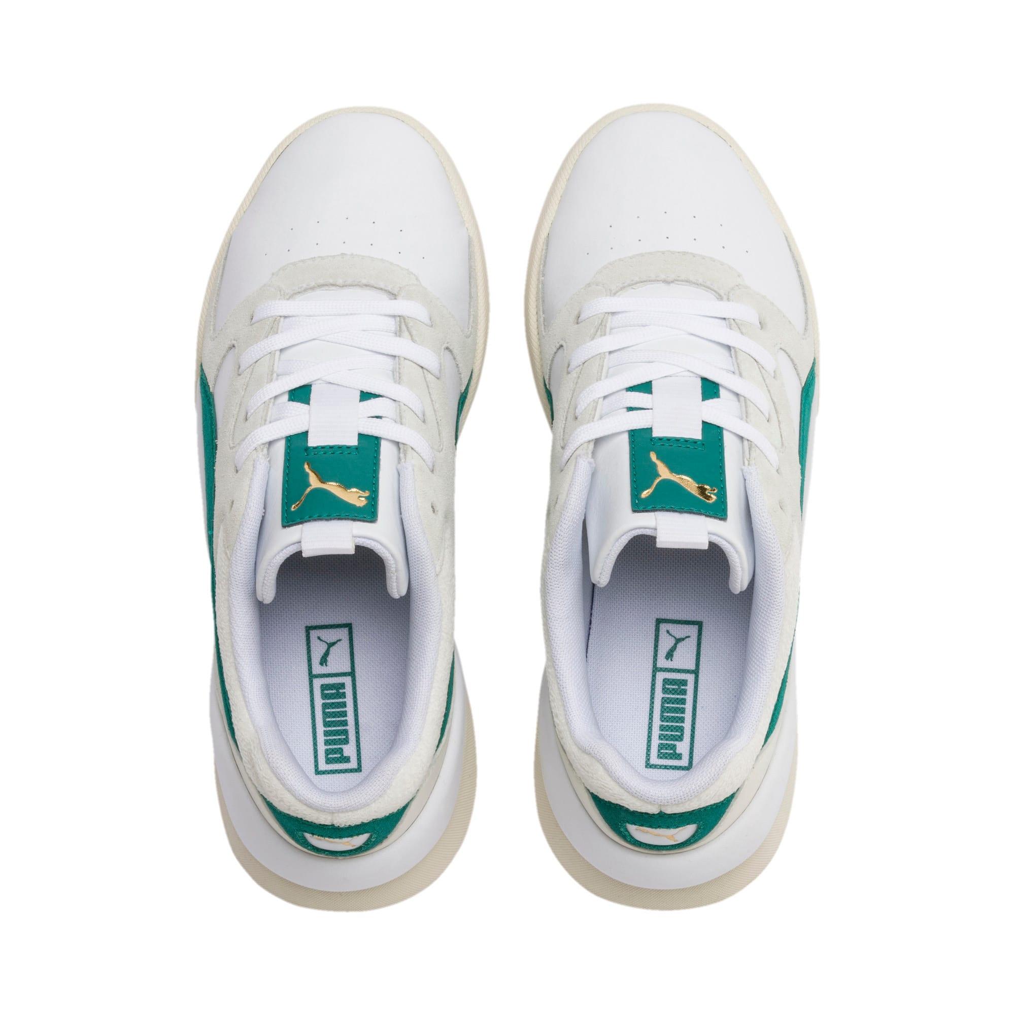 Thumbnail 7 of Aeon Heritage Women's Sneakers, Puma White-Teal Green, medium