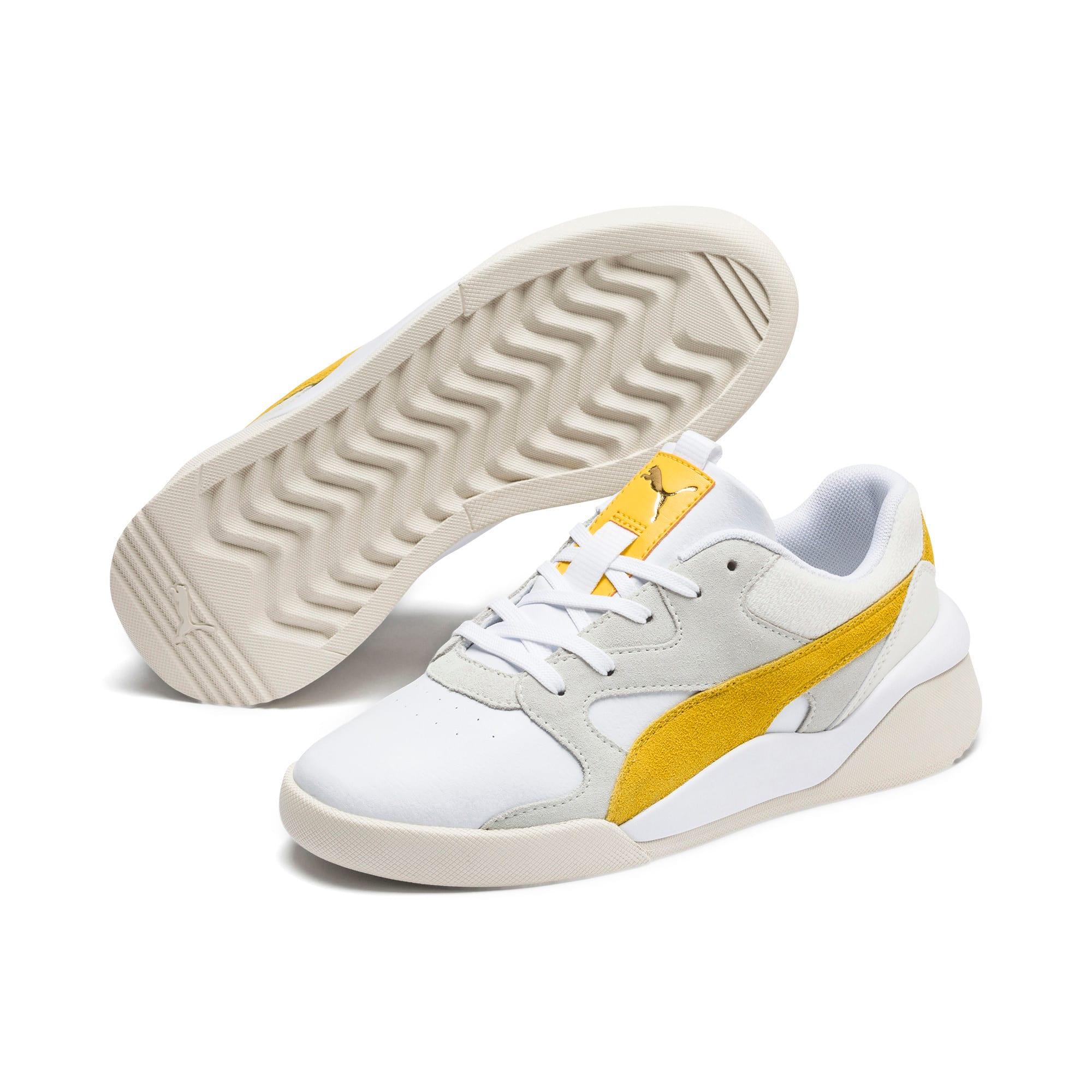 Thumbnail 3 of Aeon Heritage Women's Sneakers, Puma White-Sulphur, medium