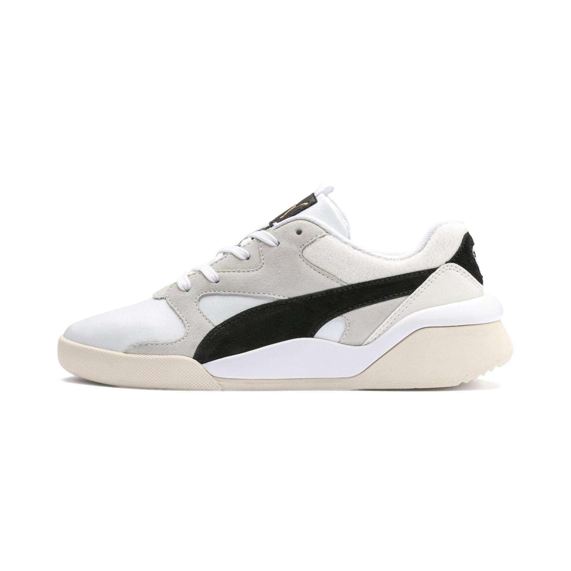 Thumbnail 1 of Aeon Heritage Women's Sneakers, Puma White-Puma Black, medium
