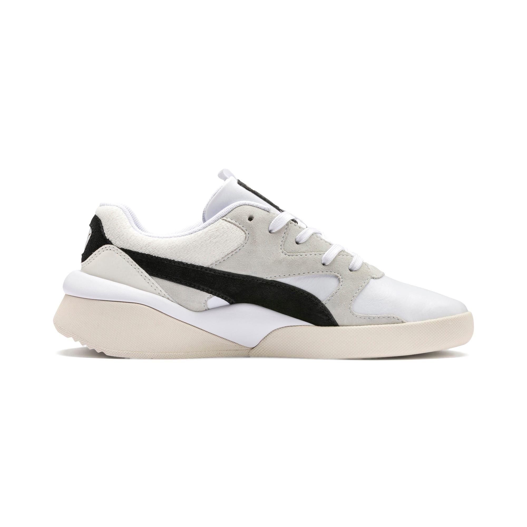 Thumbnail 6 of Aeon Heritage Women's Sneakers, Puma White-Puma Black, medium