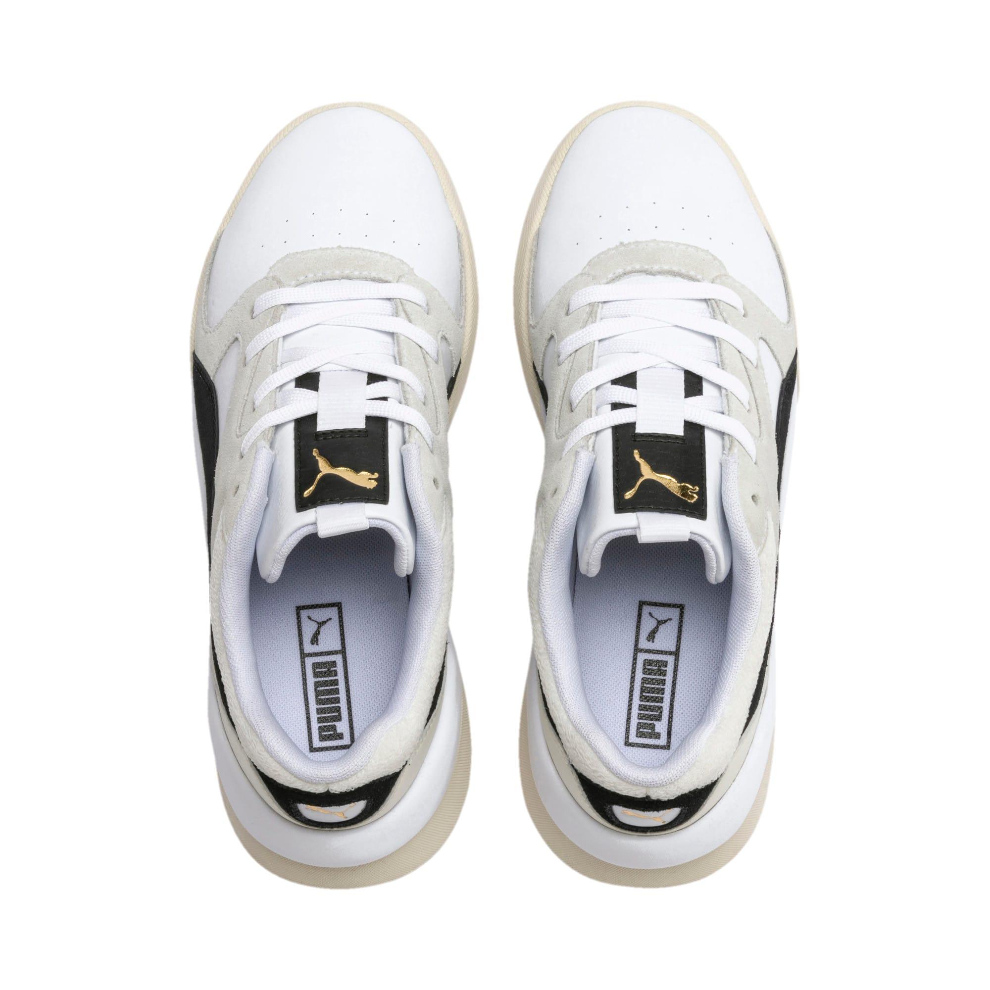 Thumbnail 7 of Aeon Heritage Women's Sneakers, Puma White-Puma Black, medium