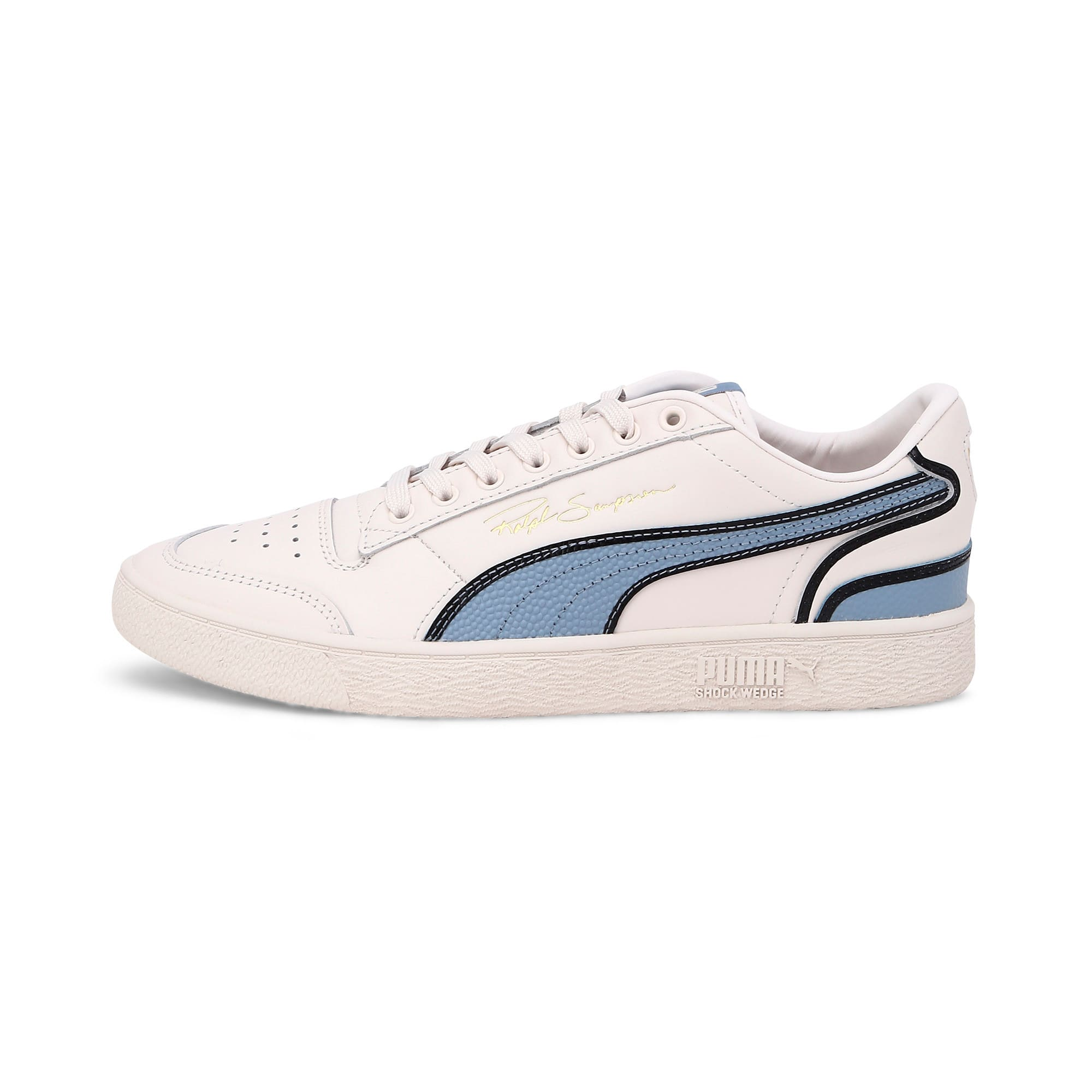 Thumbnail 1 of Ralph Sampson Lo Hoops Trainers, Pastel-Faded Denim-Pastel, medium-IND