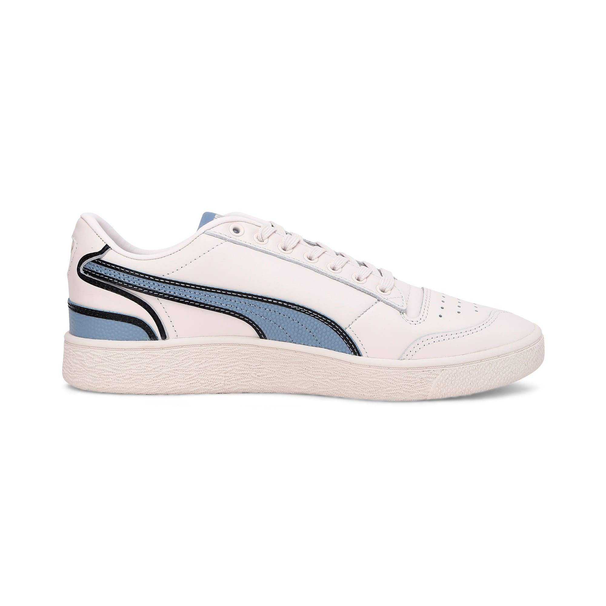 Thumbnail 7 of Ralph Sampson Lo Hoops Trainers, Pastel-Faded Denim-Pastel, medium-IND