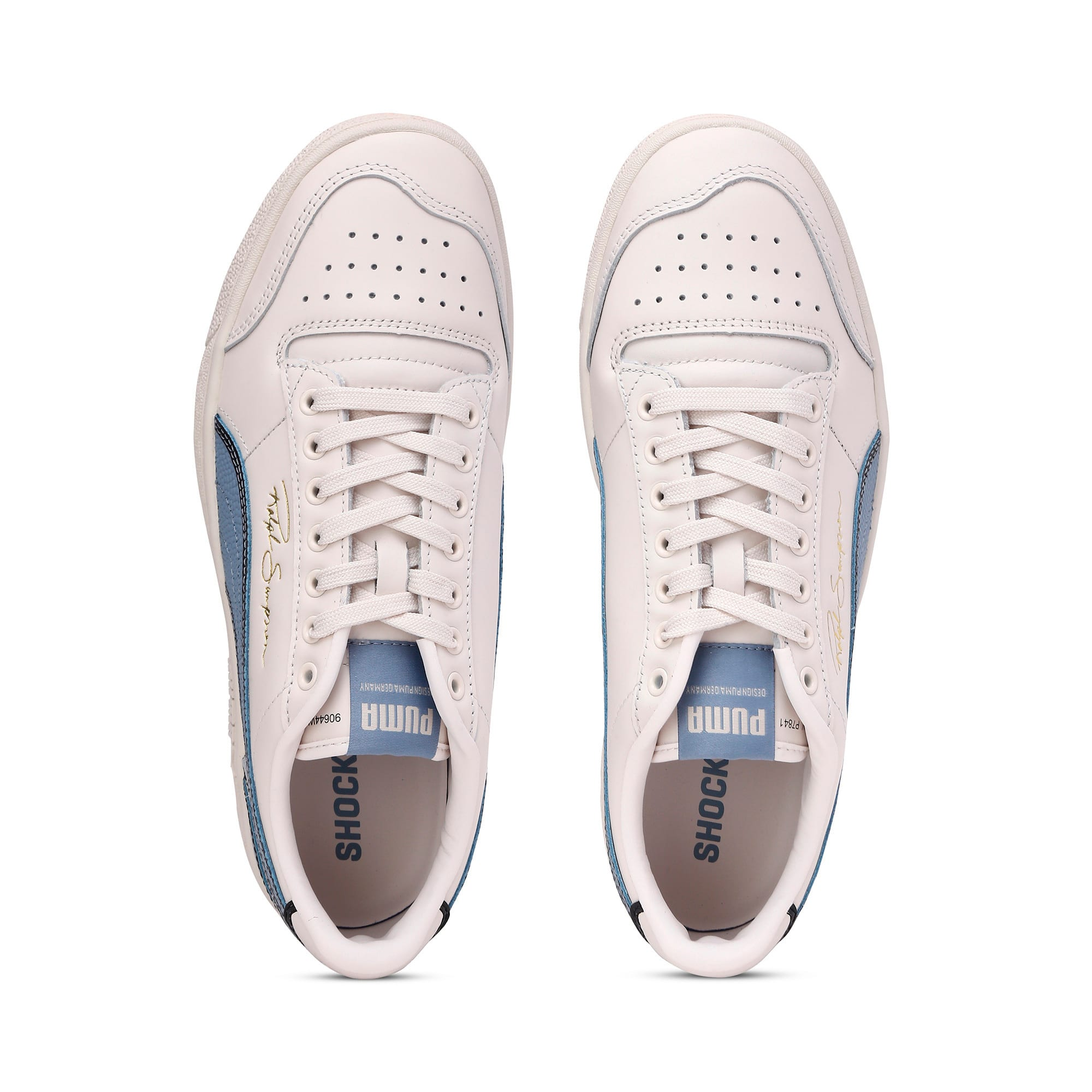 Thumbnail 8 of Ralph Sampson Lo Hoops Trainers, Pastel-Faded Denim-Pastel, medium-IND