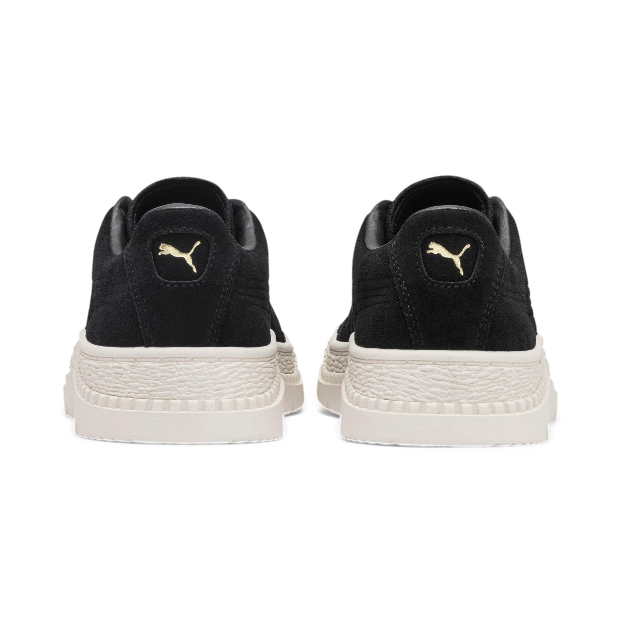 Thumbnail 5 of Utility Suede Women's Sneakers, Puma Black, medium