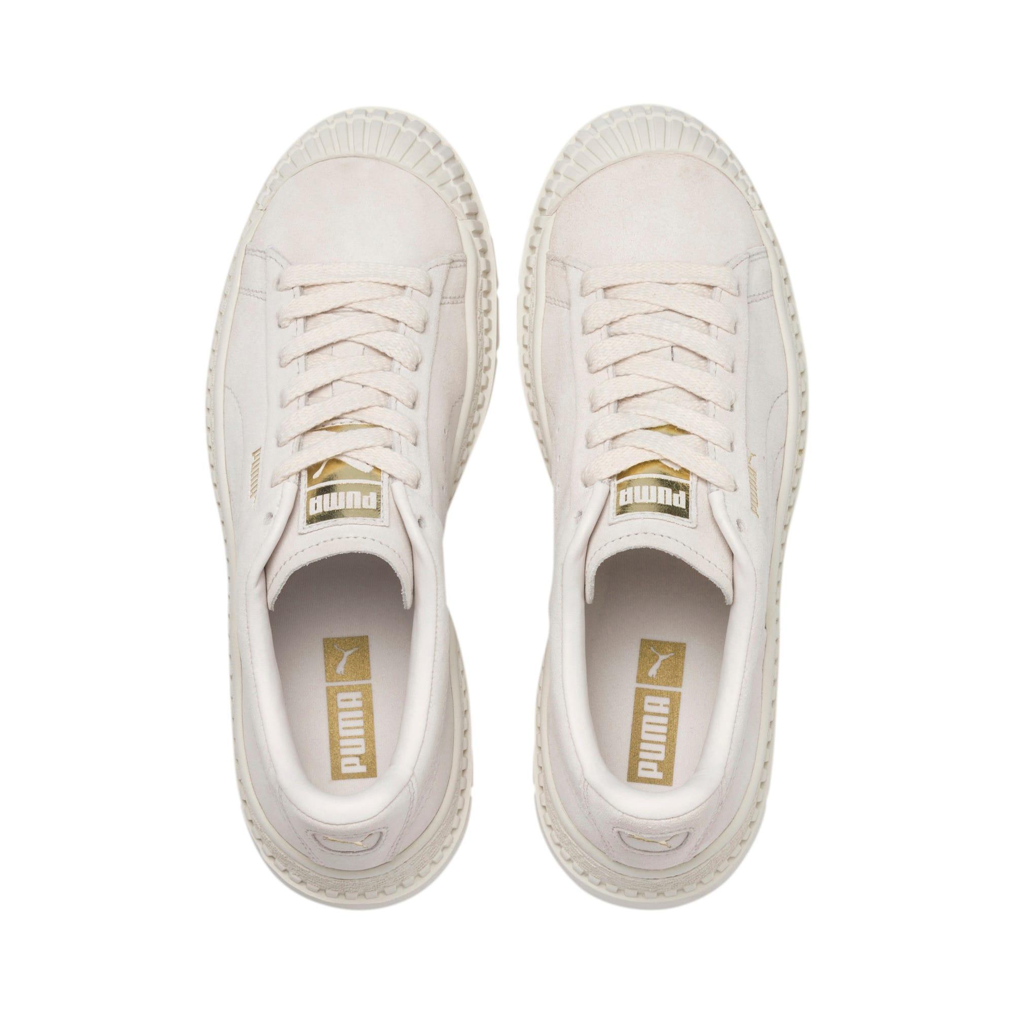 Thumbnail 7 of Utility Suede Women's Sneakers, Pastel Parchment, medium
