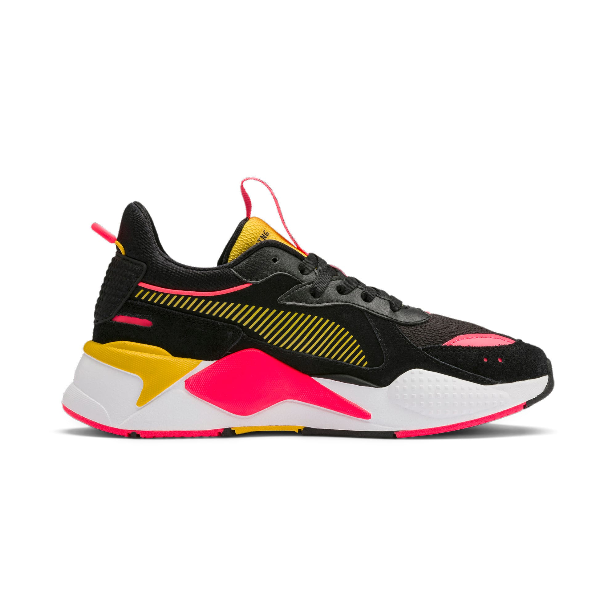 Thumbnail 7 of RS-X Reinvent Women's Trainers, Puma Black-Sulphur, medium