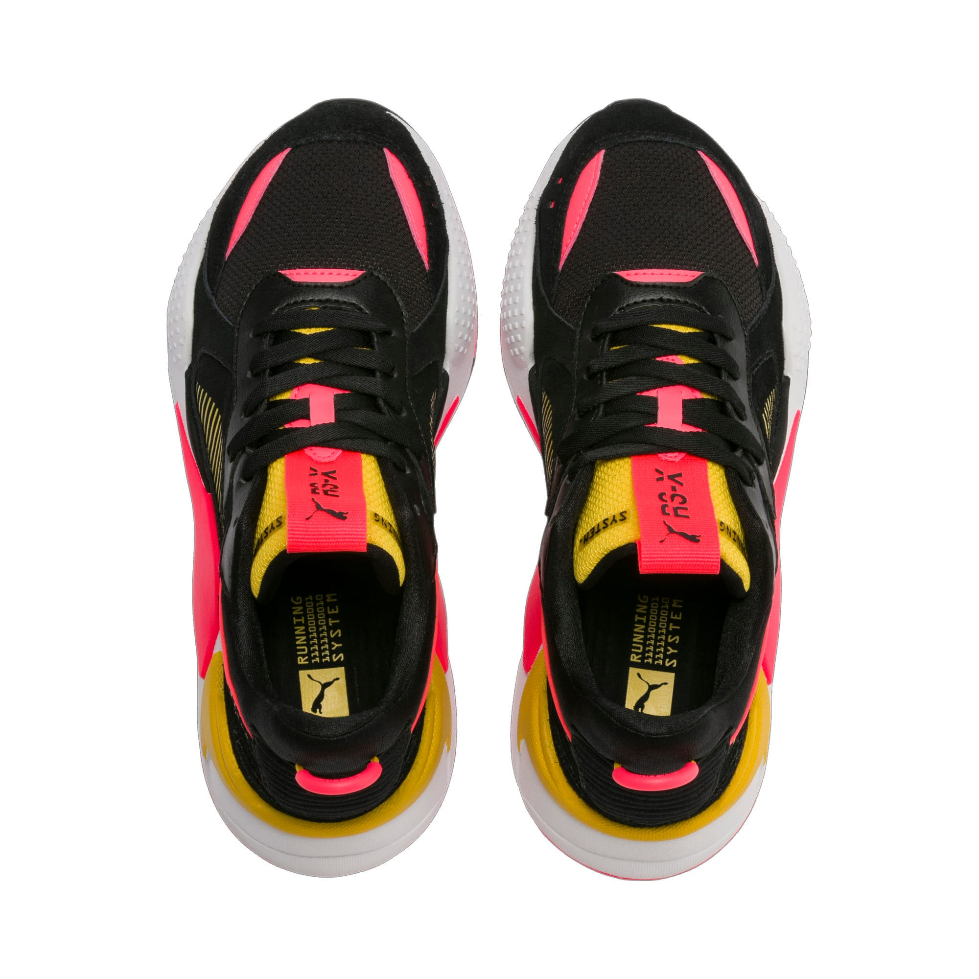 Thumbnail 8 of RS-X Reinvent Women's Trainers, Puma Black-Sulphur, medium
