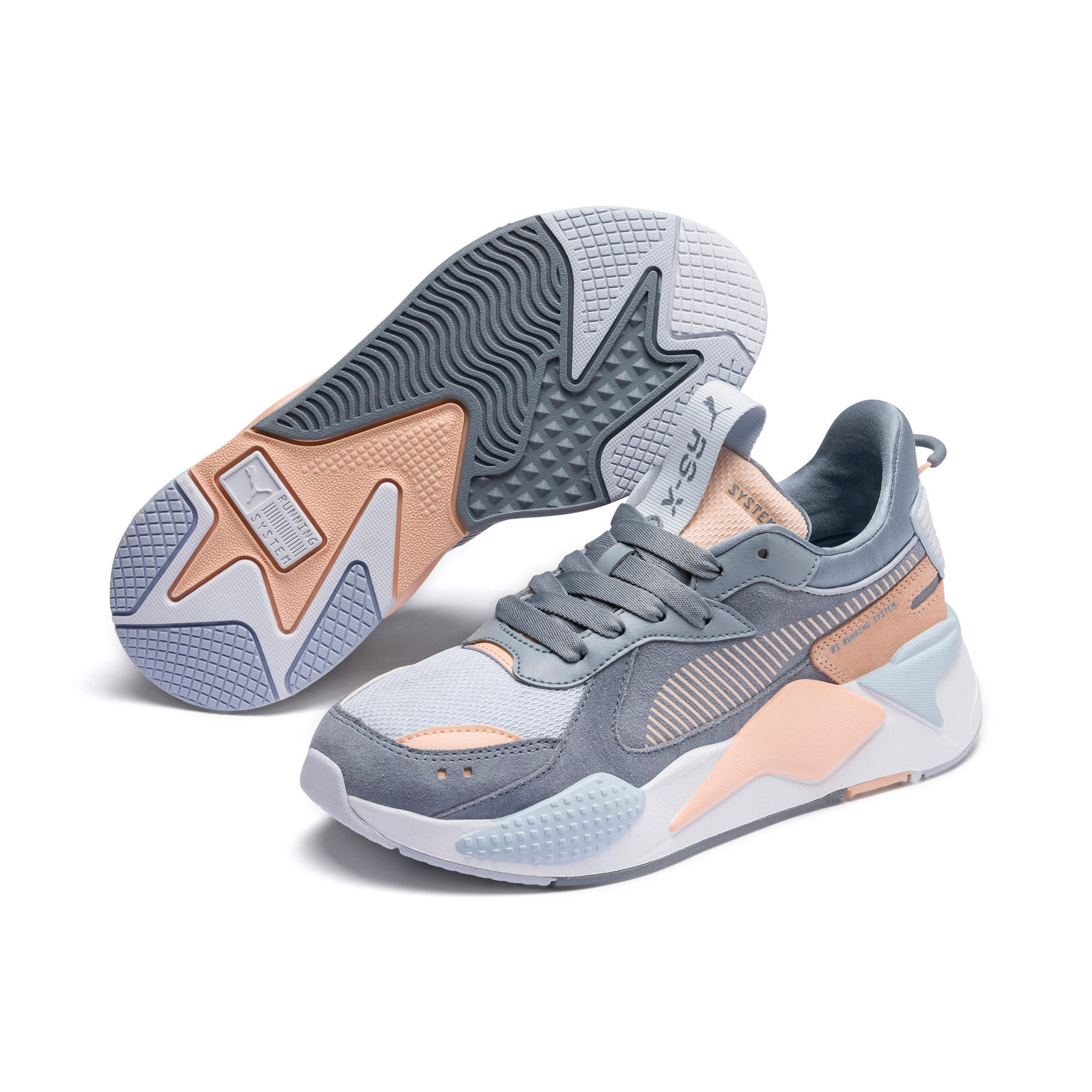 Thumbnail 3 of RS-X Reinvent Women's Trainers, Tradewinds-Heather, medium