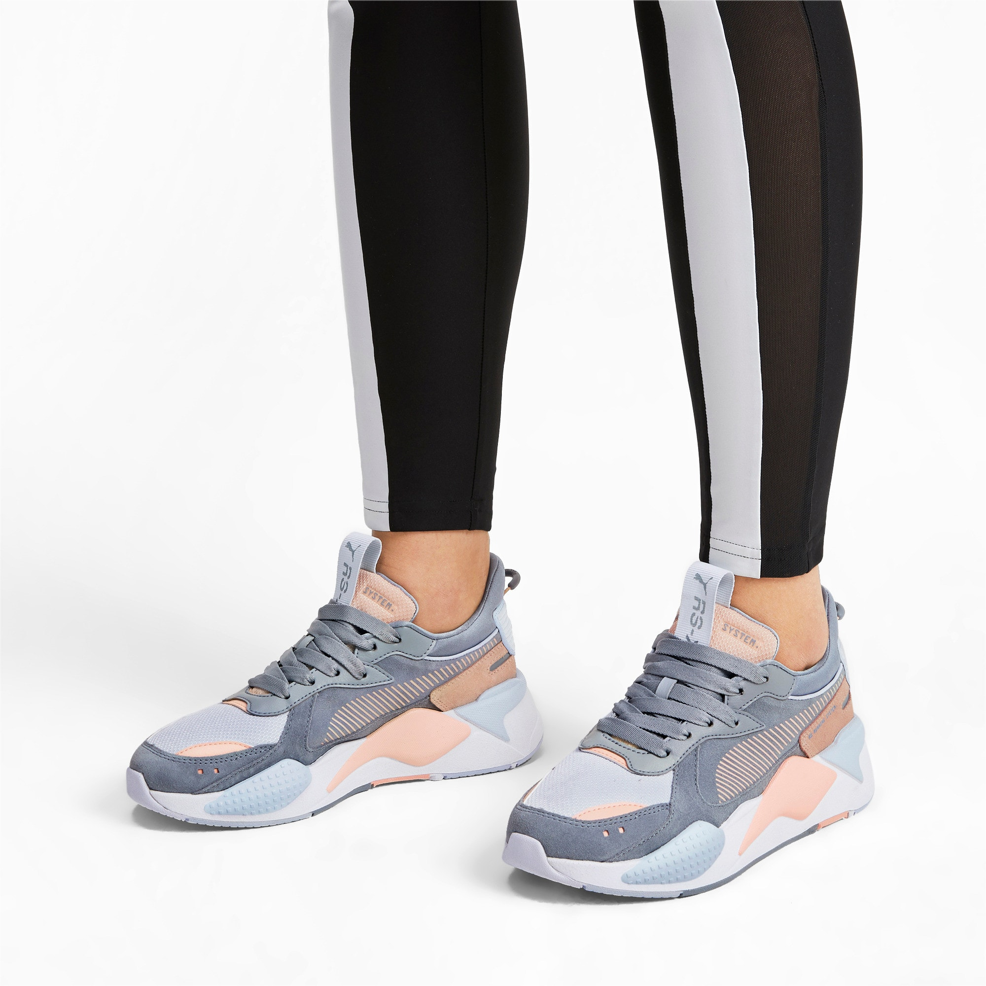 Thumbnail 2 of RS-X Reinvent Women's Trainers, Tradewinds-Heather, medium