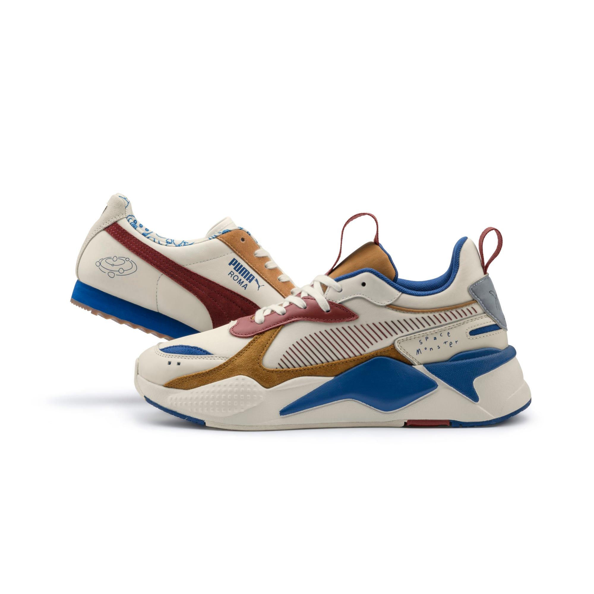 Thumbnail 9 of PUMA x TYAKASHA RS-X Sneakers, Whisper White-Fired Brick, medium