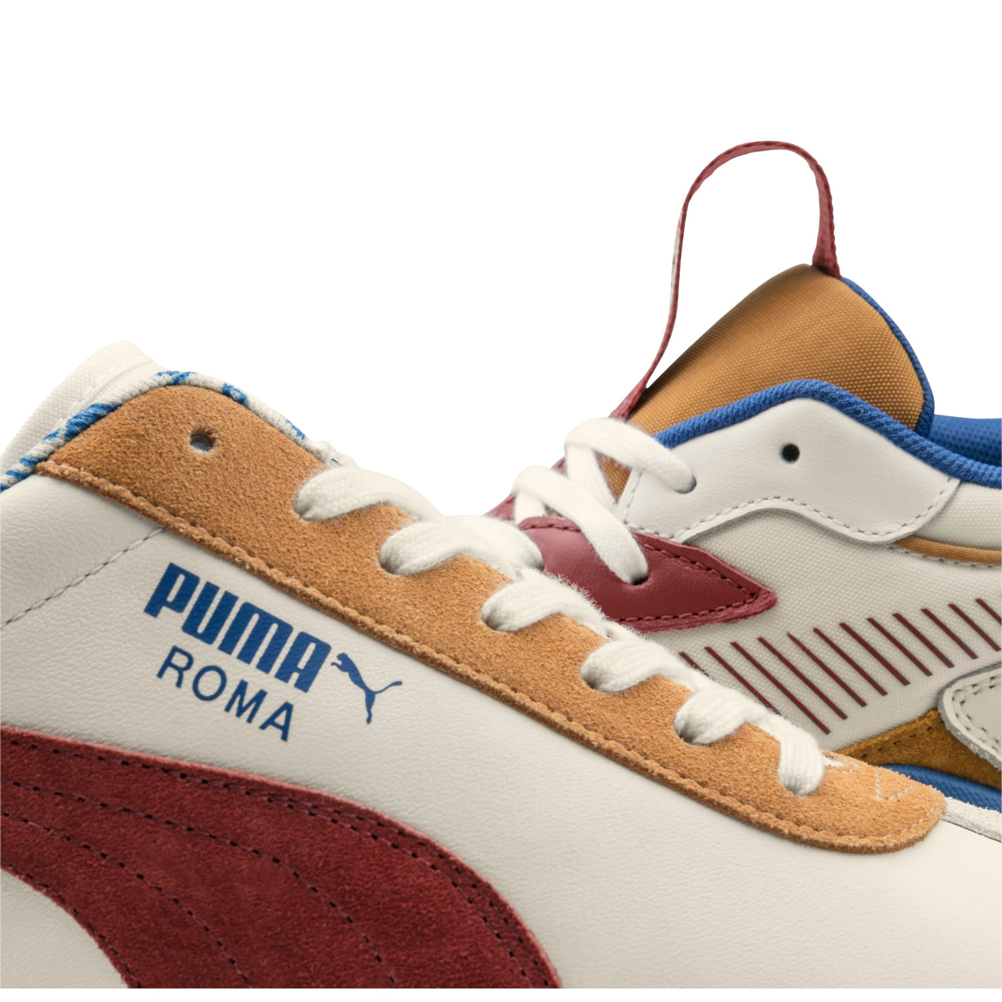 Thumbnail 10 van PUMA x TYAKASHA RS-X sportschoenen, Whisper White-Fired Brick, medium