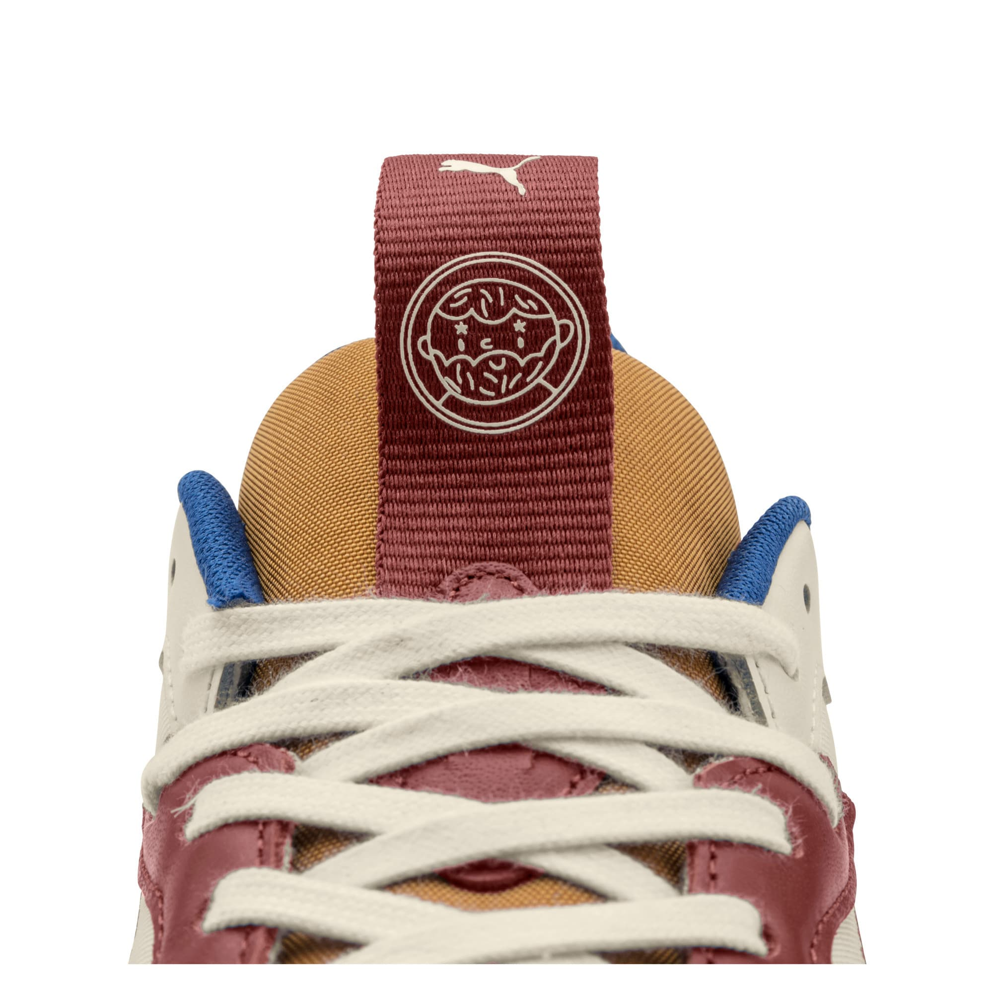 Thumbnail 12 of PUMA x TYAKASHA RS-X Sneakers, Whisper White-Fired Brick, medium