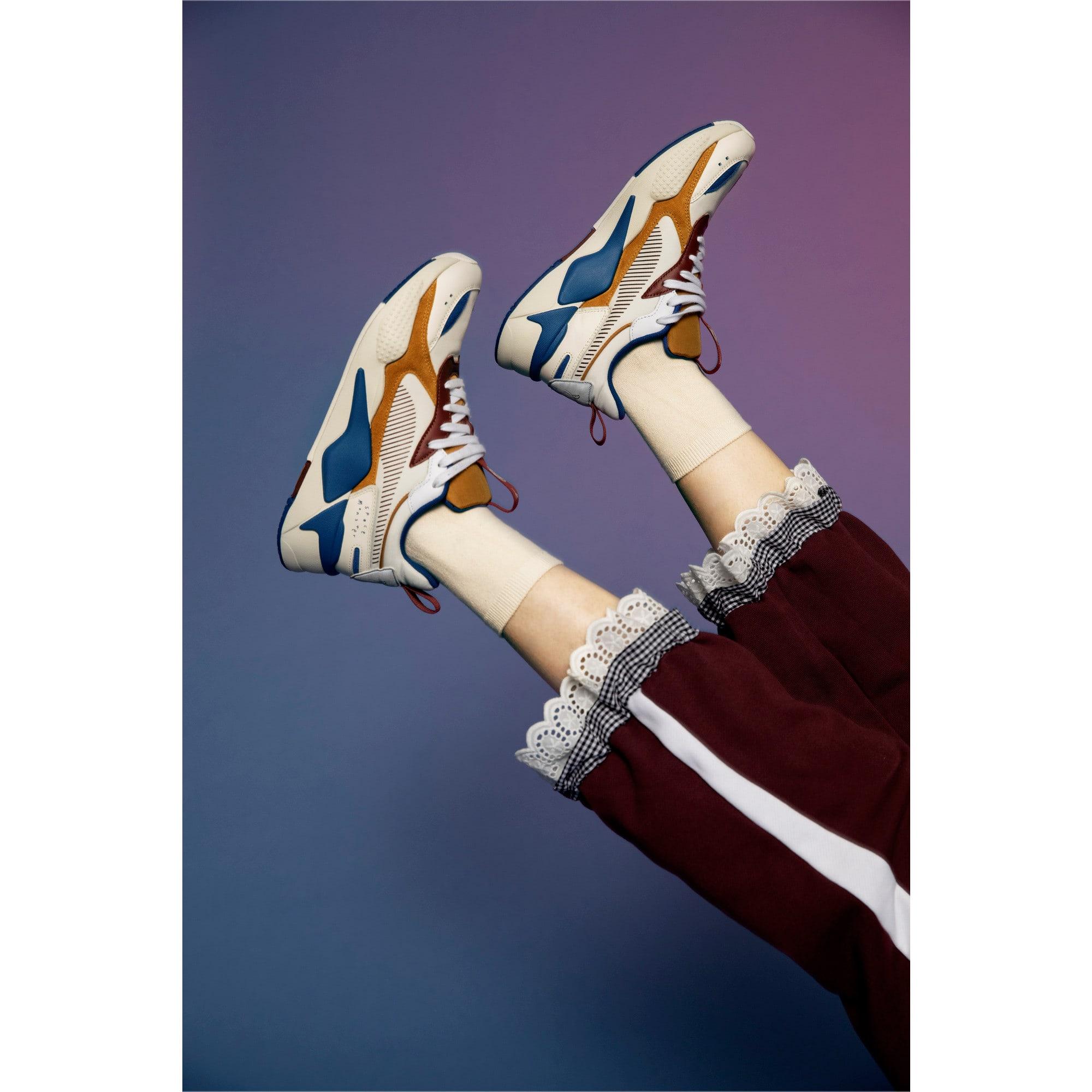 Thumbnail 13 of PUMA x TYAKASHA RS-X Sneakers, Whisper White-Fired Brick, medium