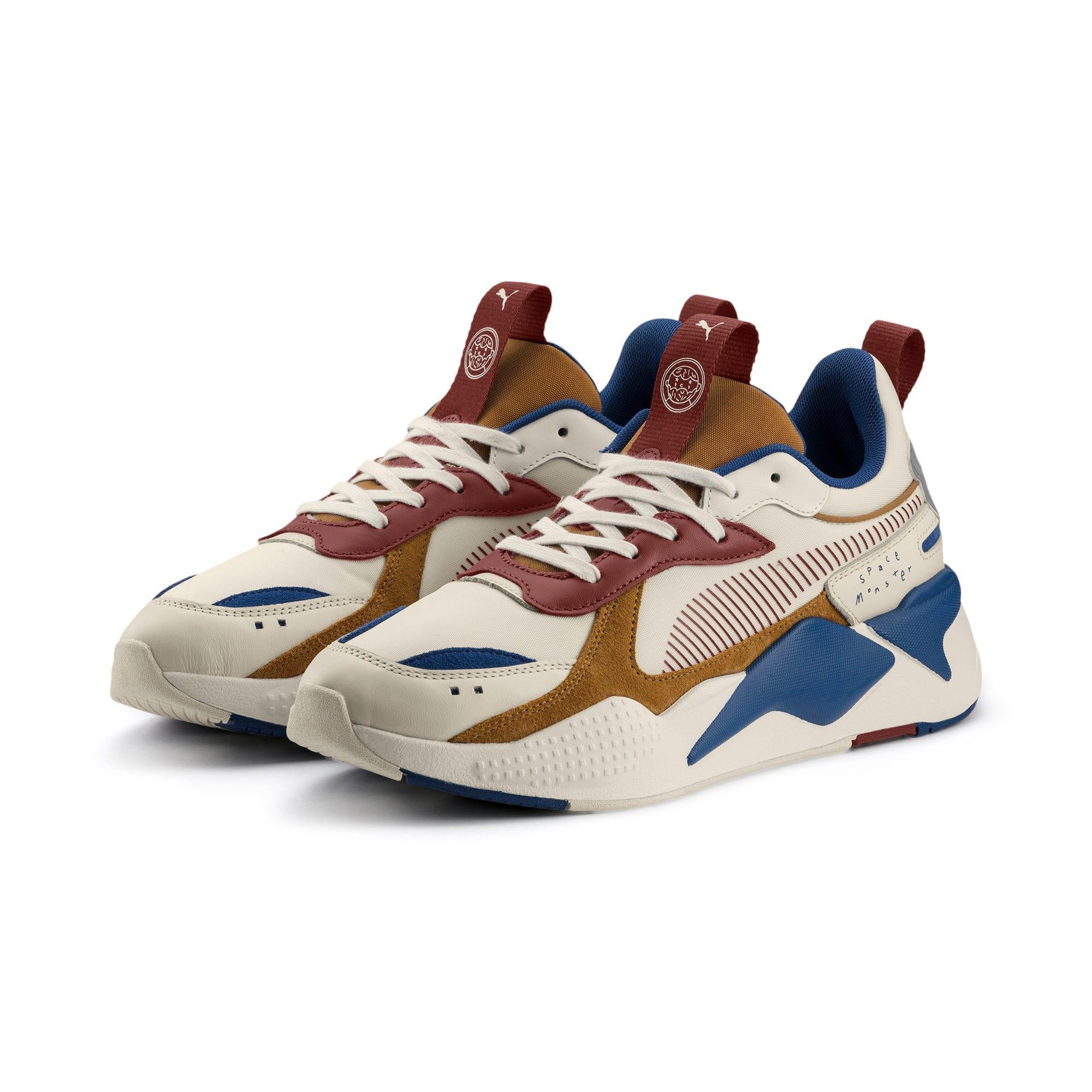 Thumbnail 4 of PUMA x TYAKASHA RS-X Sneakers, Whisper White-Fired Brick, medium