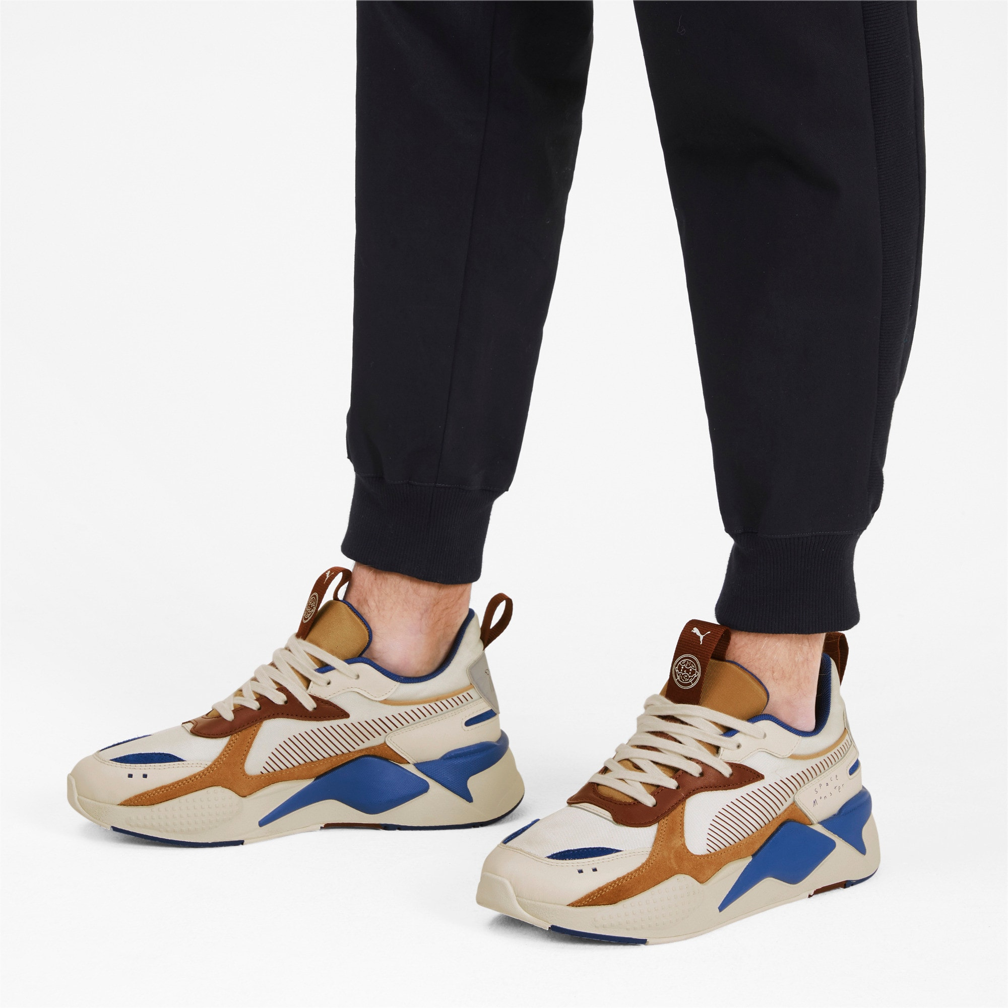 Thumbnail 3 of PUMA x TYAKASHA RS-X Sneakers, Whisper White-Fired Brick, medium