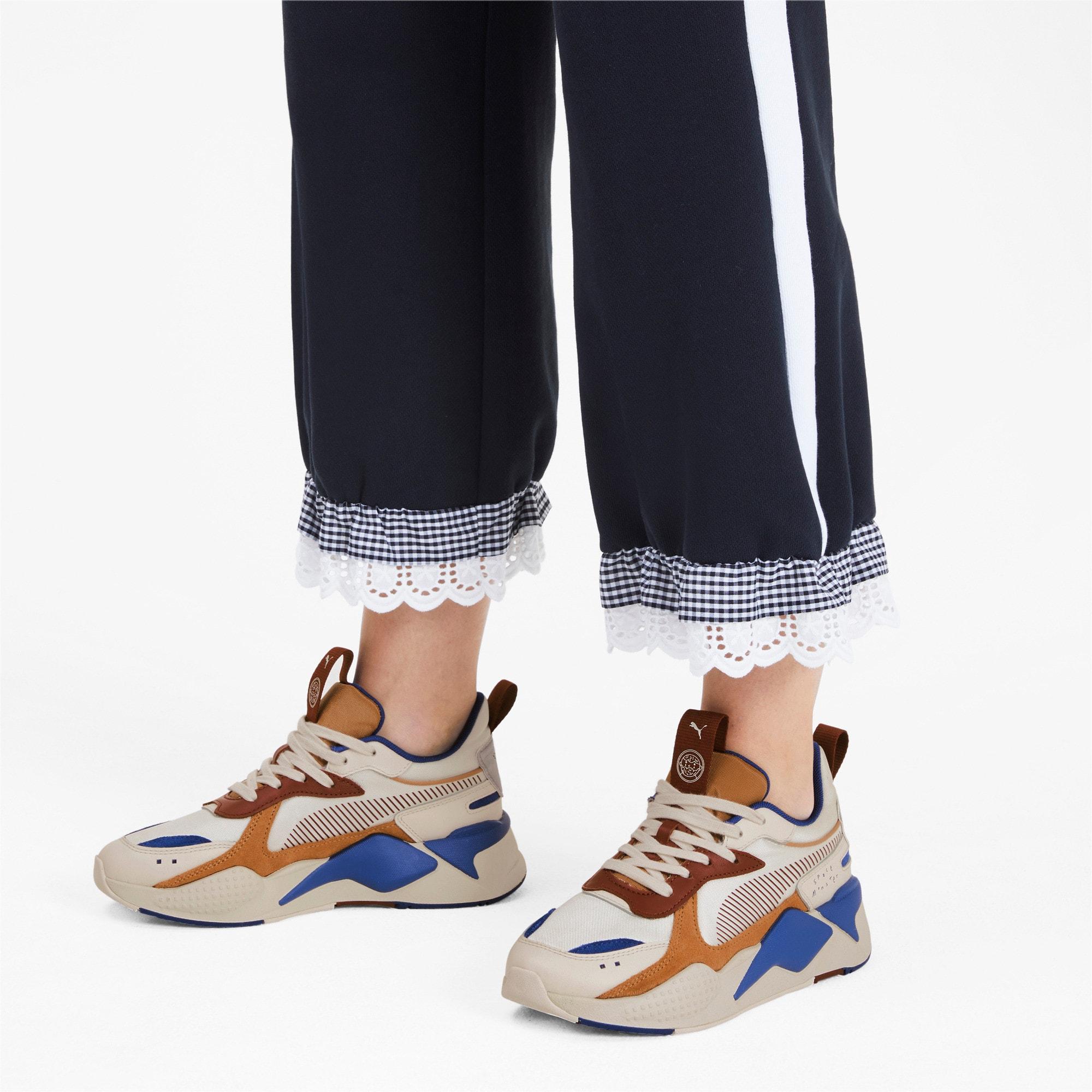 Thumbnail 2 of PUMA x TYAKASHA RS-X Sneakers, Whisper White-Fired Brick, medium