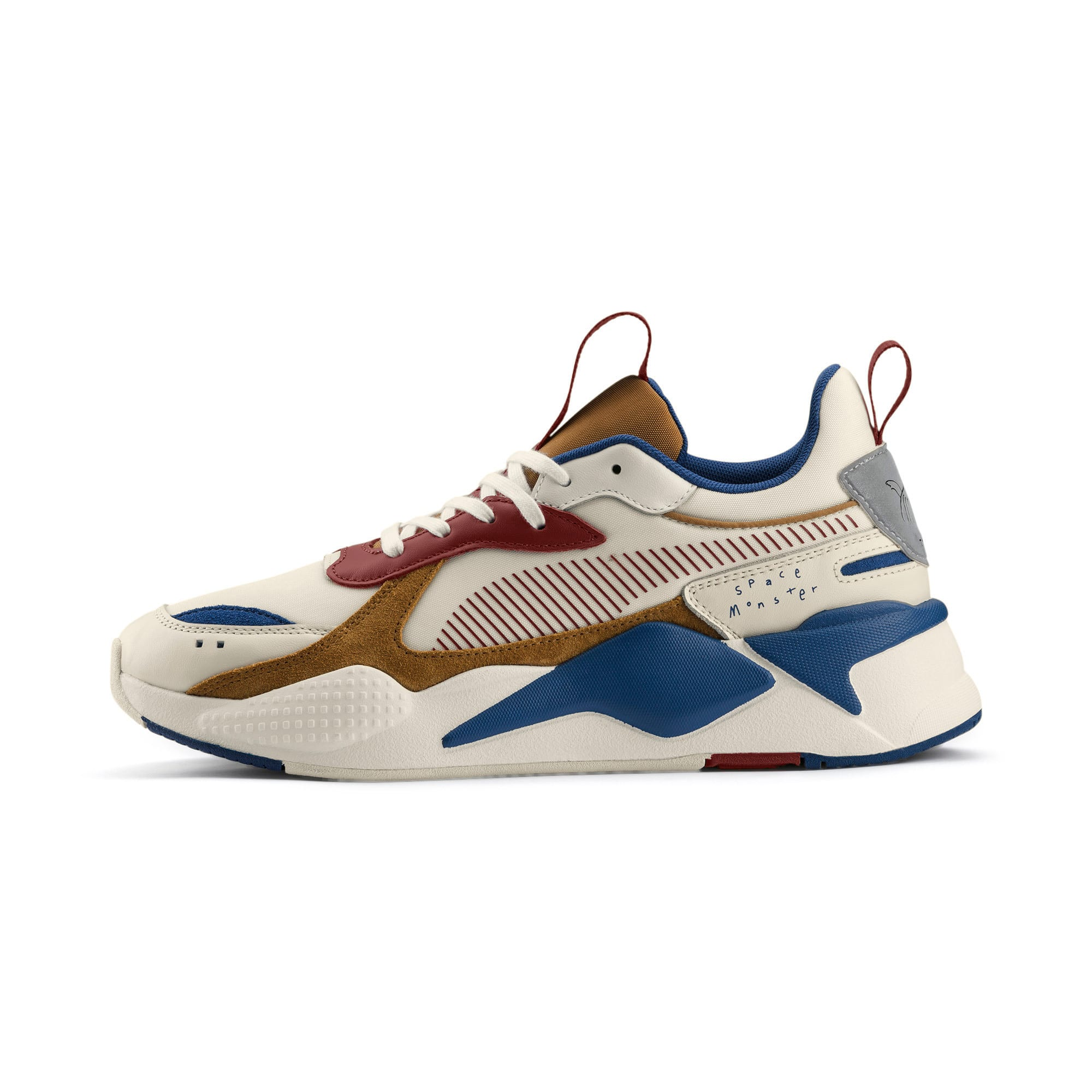 Thumbnail 1 van PUMA x TYAKASHA RS-X sportschoenen, Whisper White-Fired Brick, medium