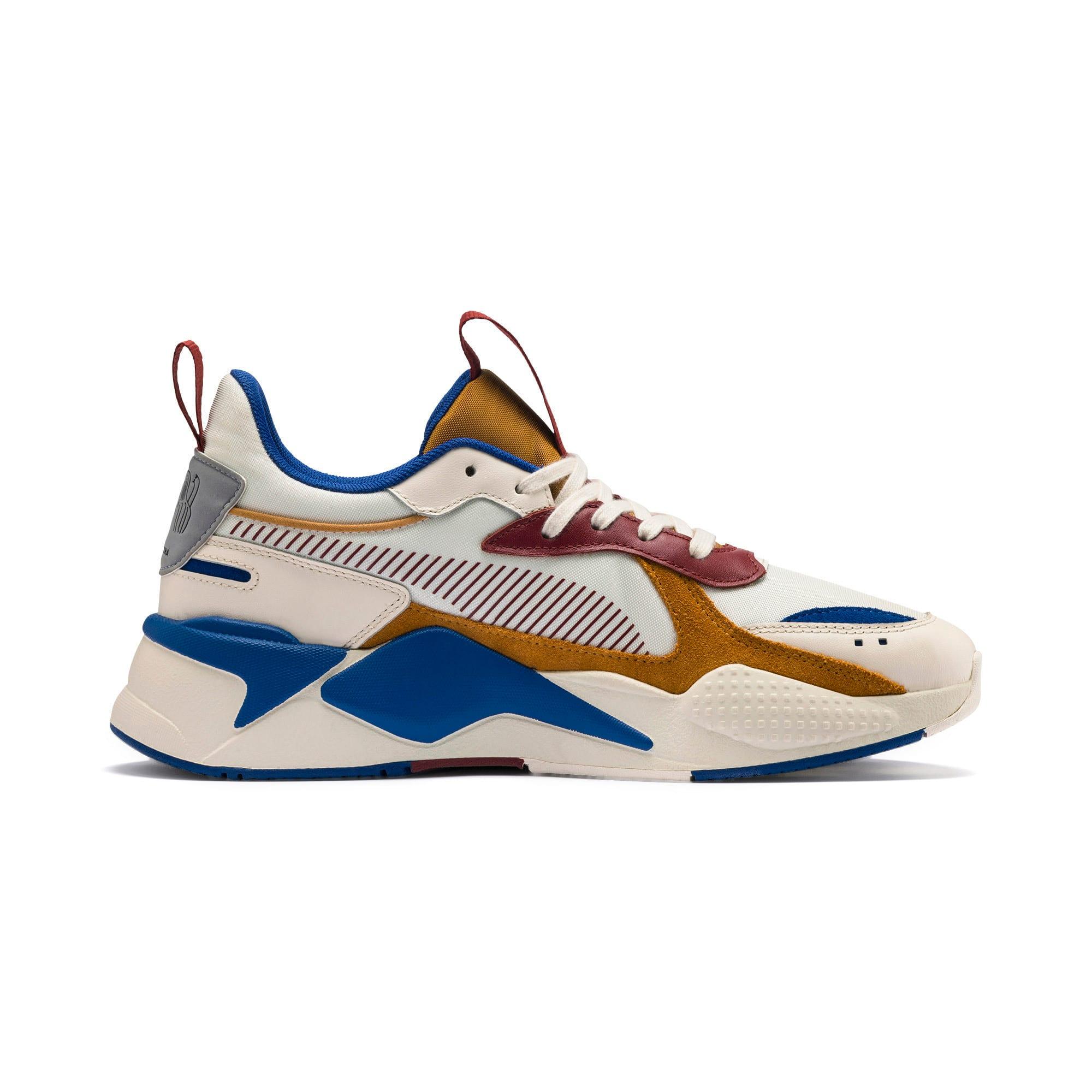 Thumbnail 7 of PUMA x TYAKASHA RS-X Sneakers, Whisper White-Fired Brick, medium