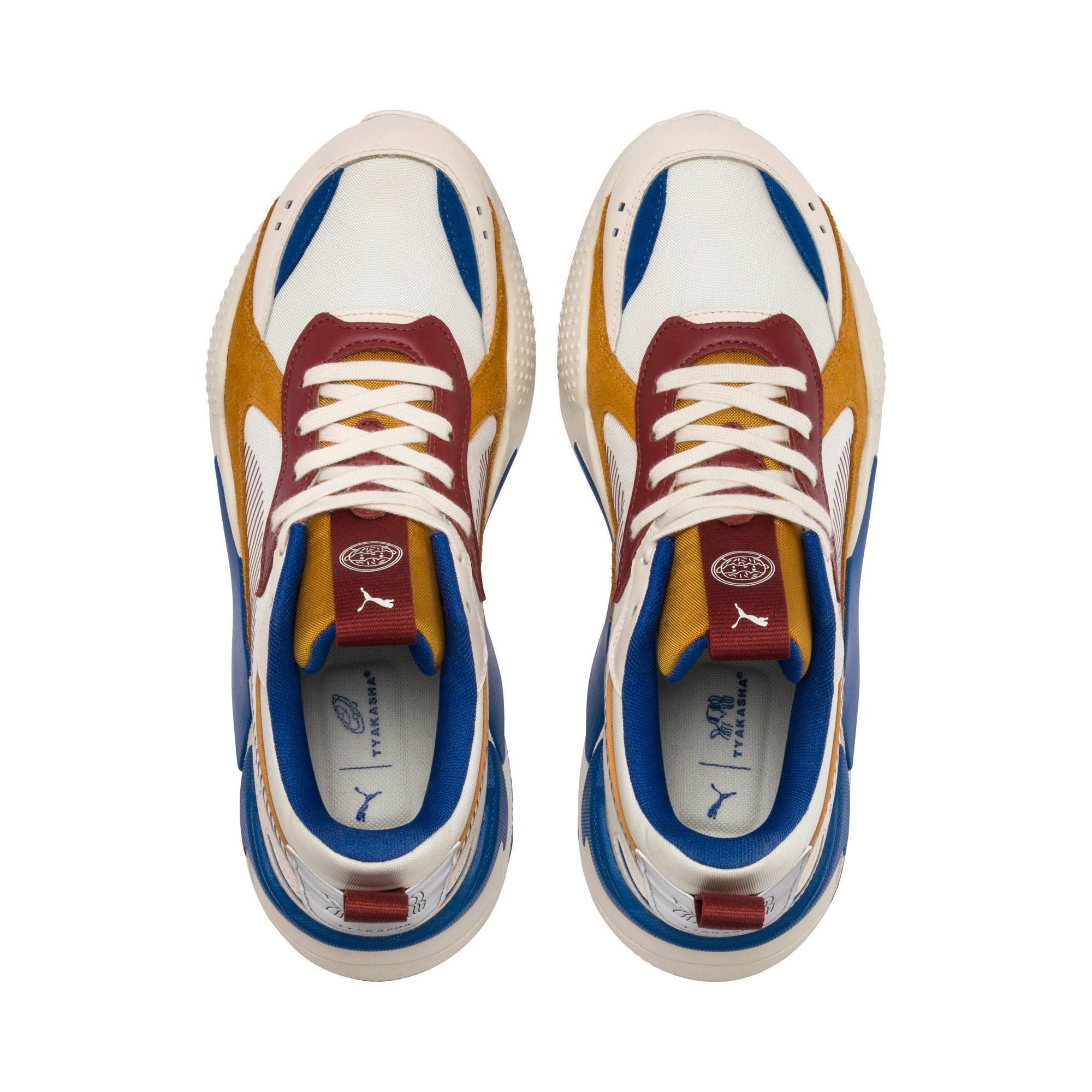 Thumbnail 8 of PUMA x TYAKASHA RS-X Sneakers, Whisper White-Fired Brick, medium