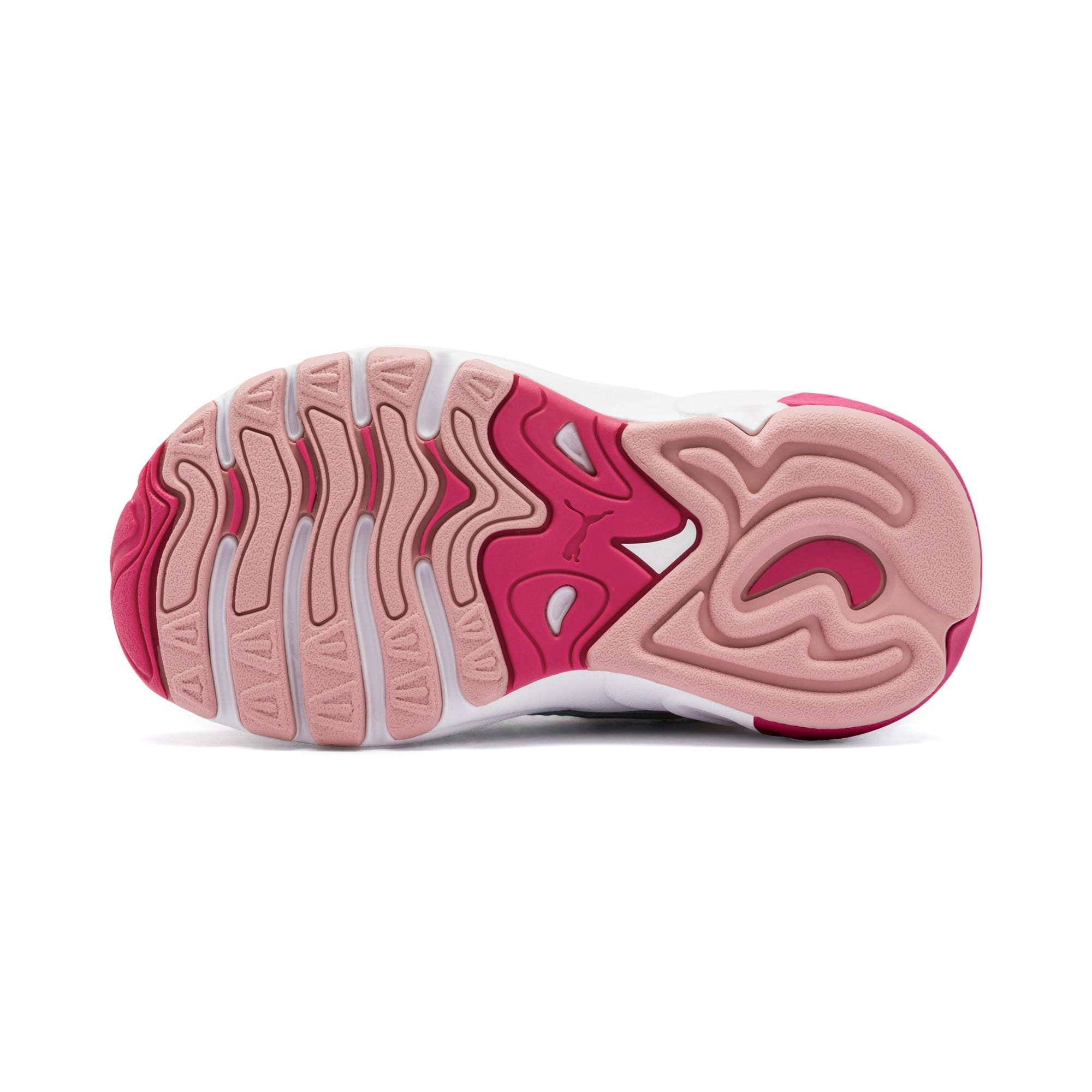 Thumbnail 4 of CELL Alien Cosmic Babies' Trainers, Bridal Rose-Milky Blue, medium