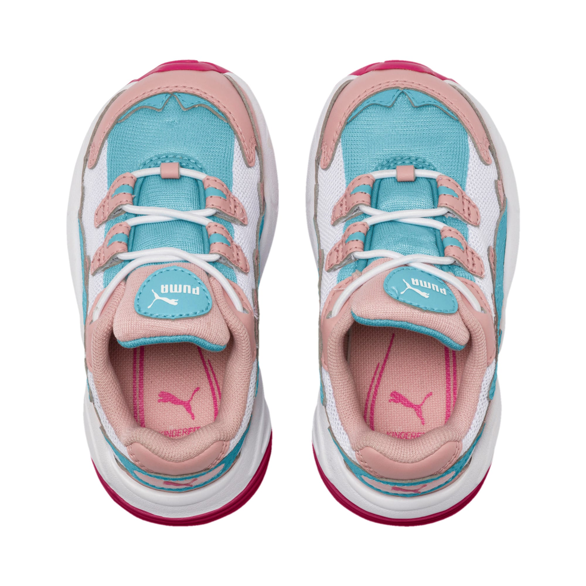 Thumbnail 6 of CELL Alien Cosmic Babies' Trainers, Bridal Rose-Milky Blue, medium