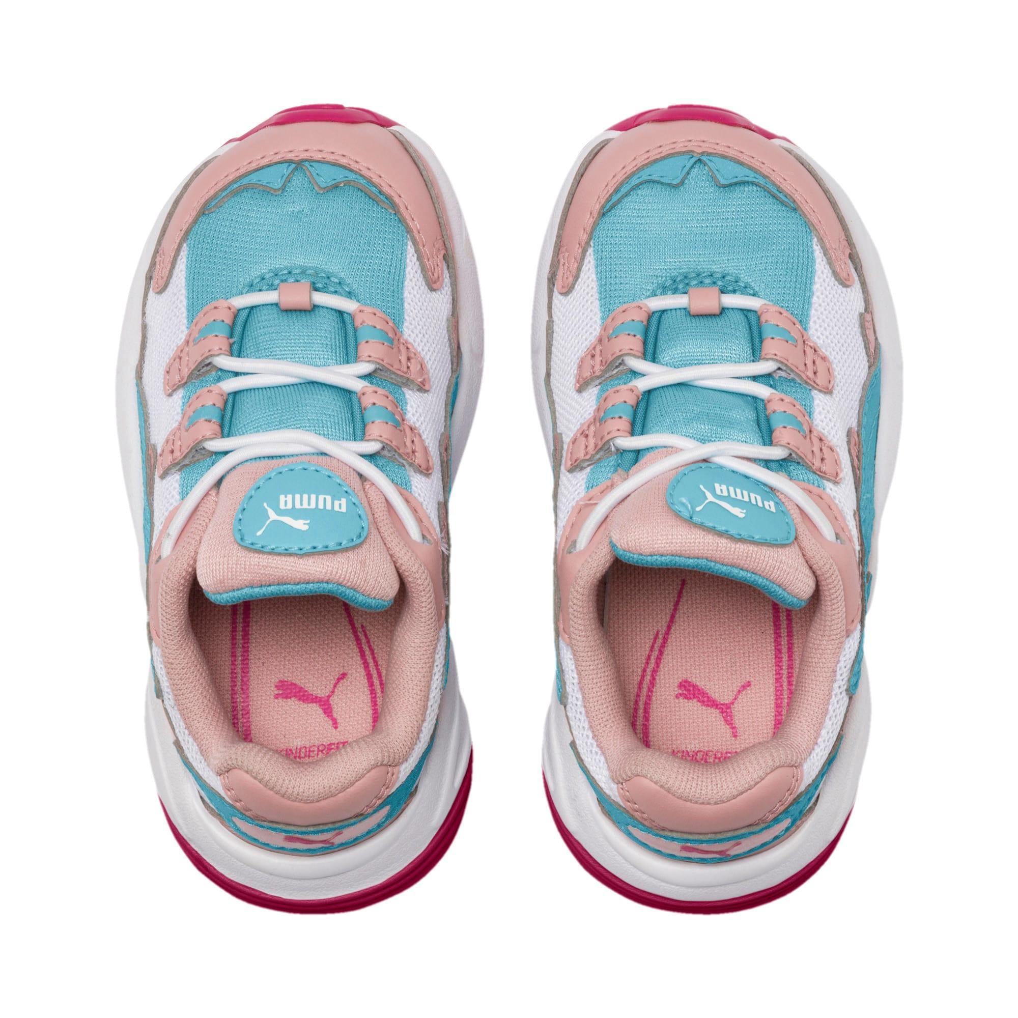 Thumbnail 6 of CELL Alien Cosmic Kleinkinder Sneaker, Bridal Rose-Milky Blue, medium