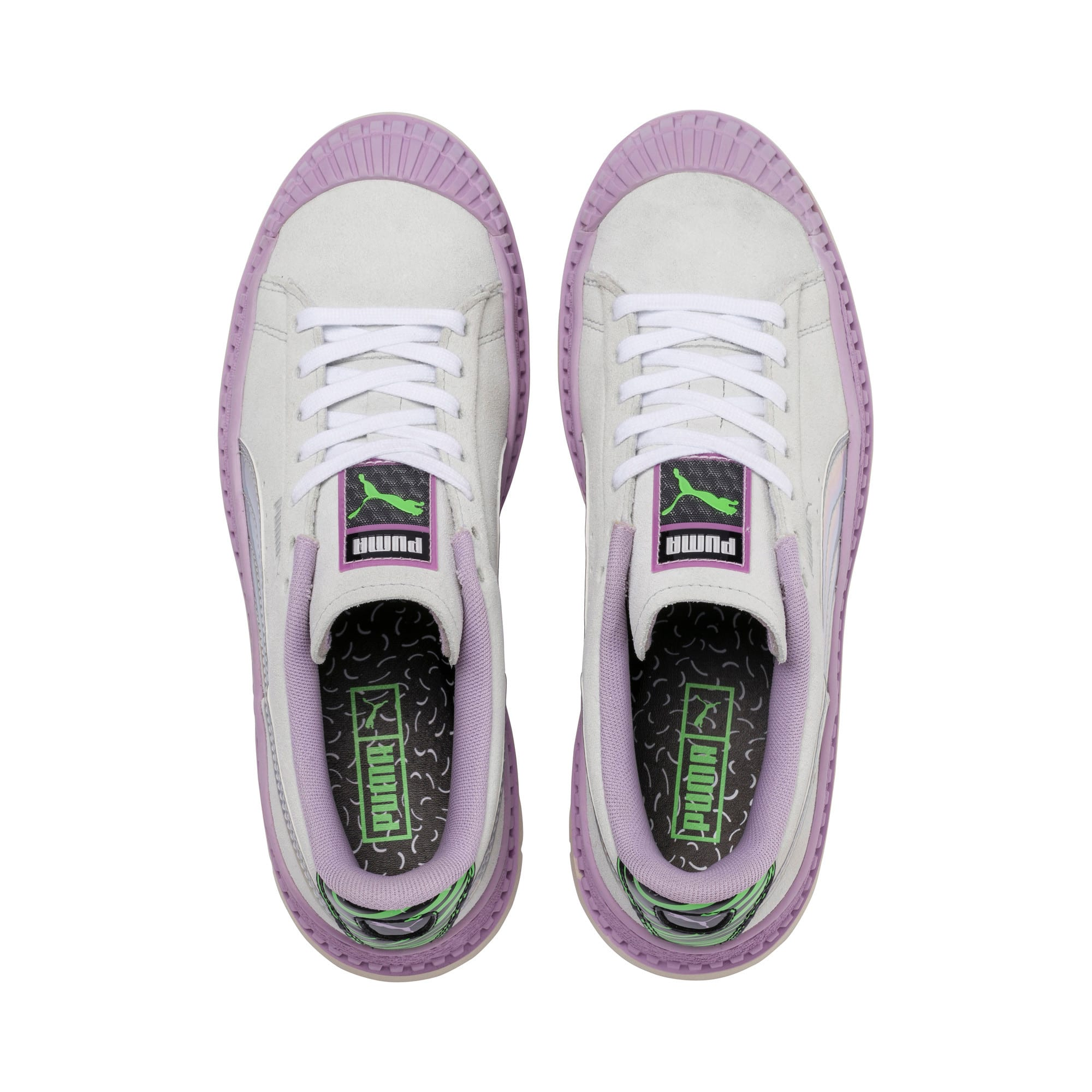 Thumbnail 6 of Utility Dimension Women's Sneakers, Silver Birch-Orchid Bloom, medium