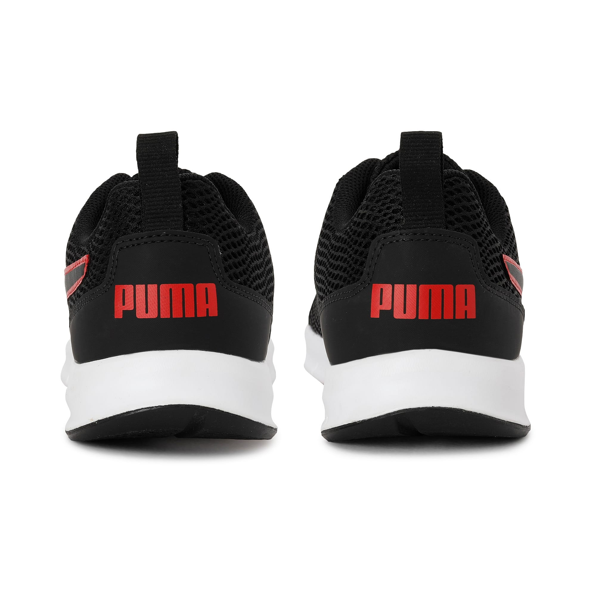 Thumbnail 3 of Rapid Runner IDP Puma Black-High Risk Re, Puma Black-High Risk Red, medium-IND