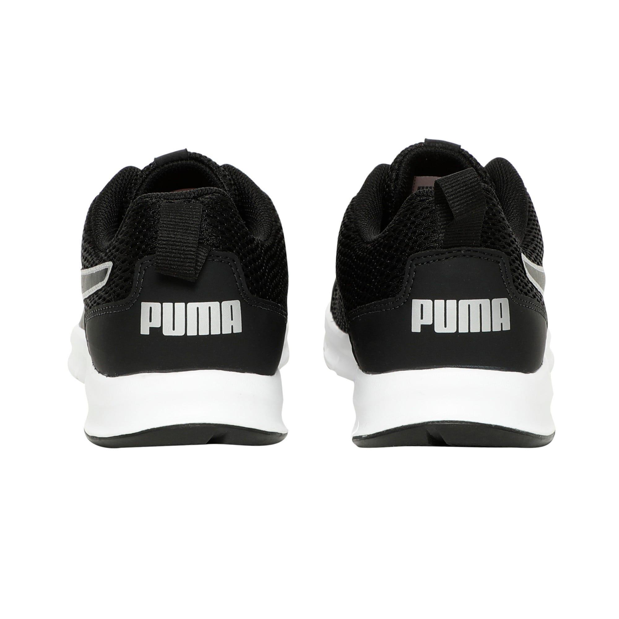 Thumbnail 3 of Rapid Runner IDP Puma Black-High Risk Re, Puma Black-Puma Silver, medium-IND