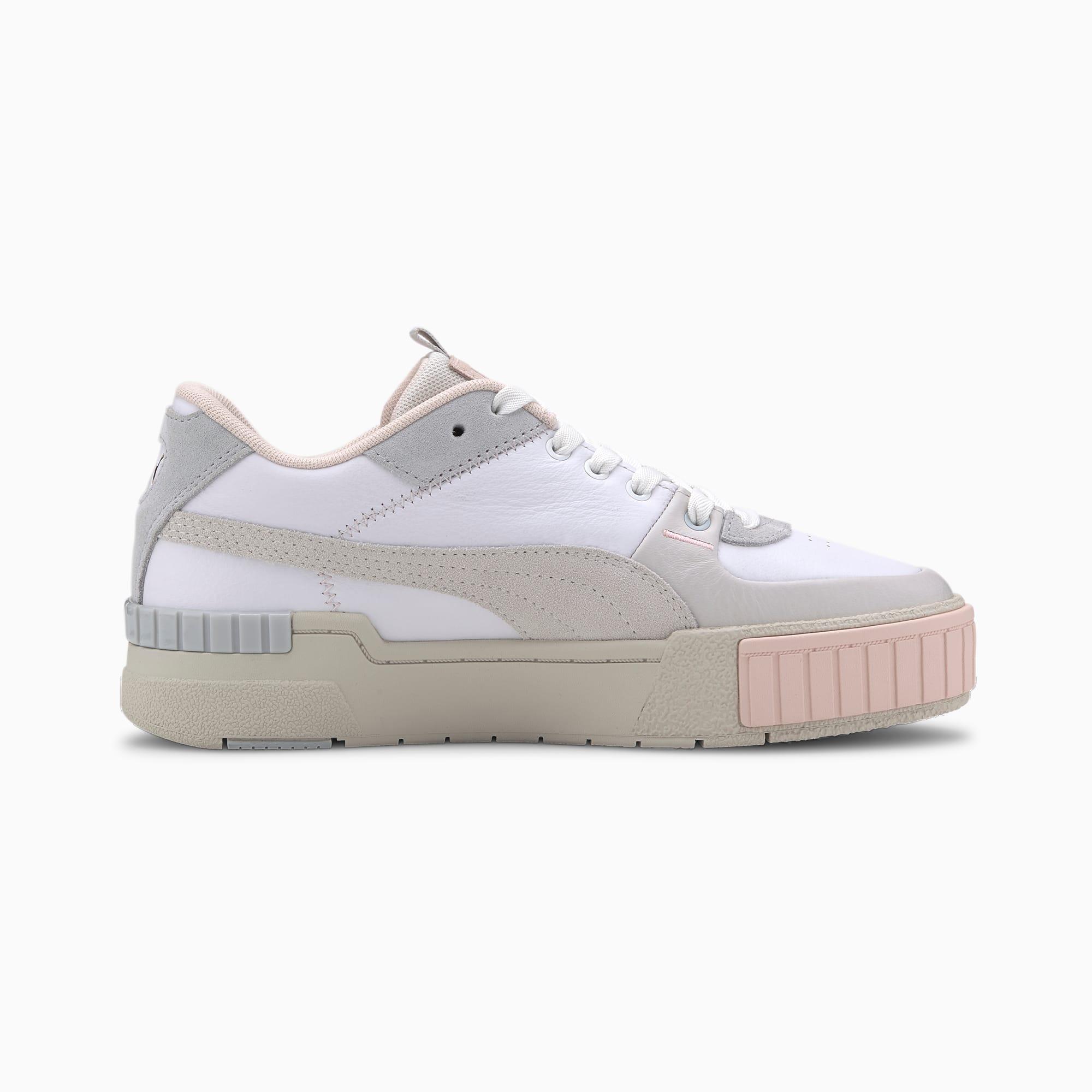 Puma CALI SPORT MIX Sneakersy niskie whitemarshmallow