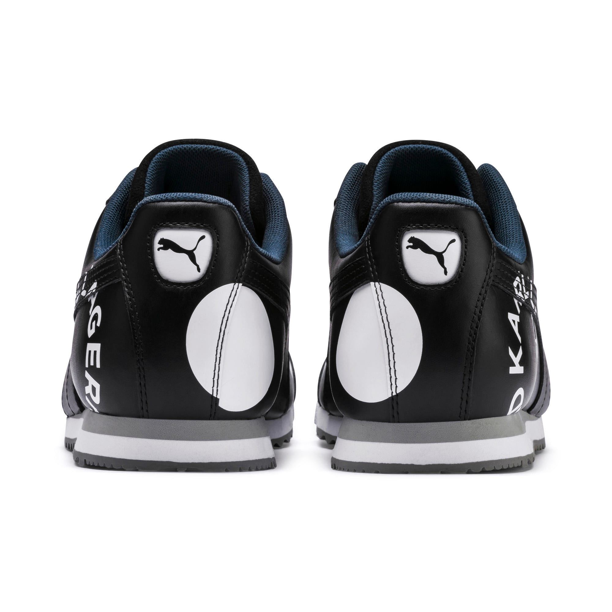 Thumbnail 3 of PUMA x KARL LAGERFELD Roma Trainers, Puma Black, medium