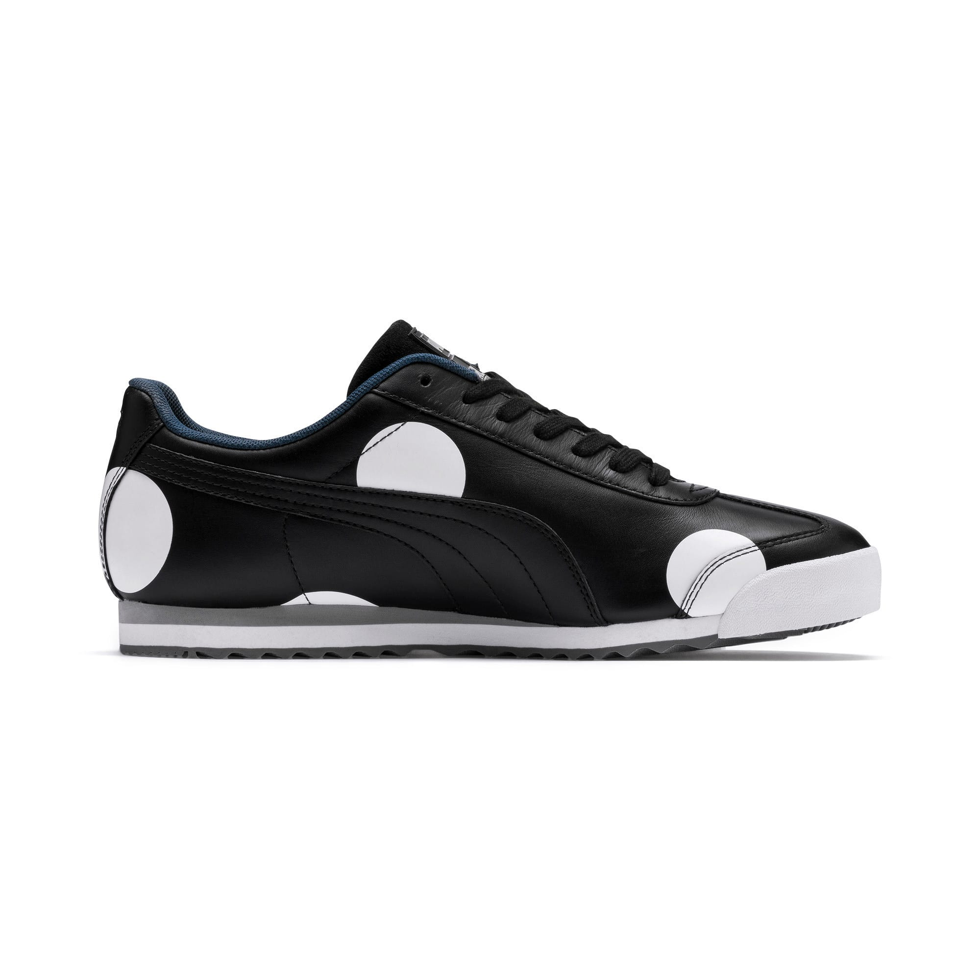 Thumbnail 5 of PUMA x KARL LAGERFELD Roma Trainers, Puma Black, medium