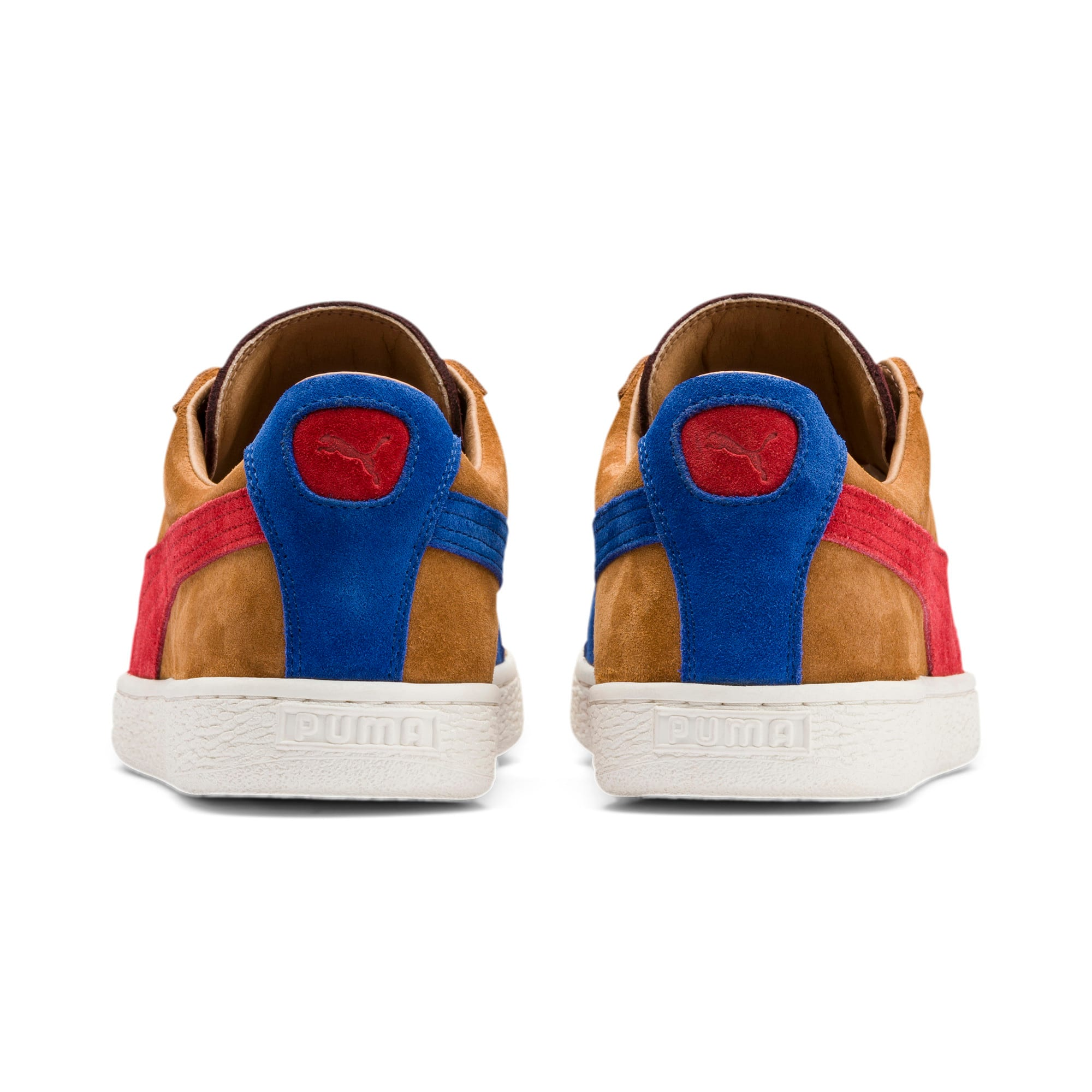 Thumbnail 4 of Suede MIE Sneakers, B. Brown-T. Red-H. R. Red, medium